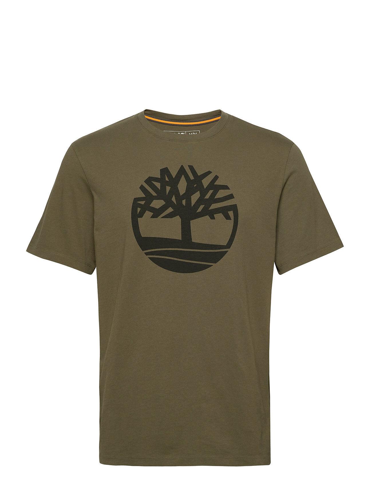 Timberland Ss K-R Brand Tree T T-shirts Short-sleeved Vihreä Timberland