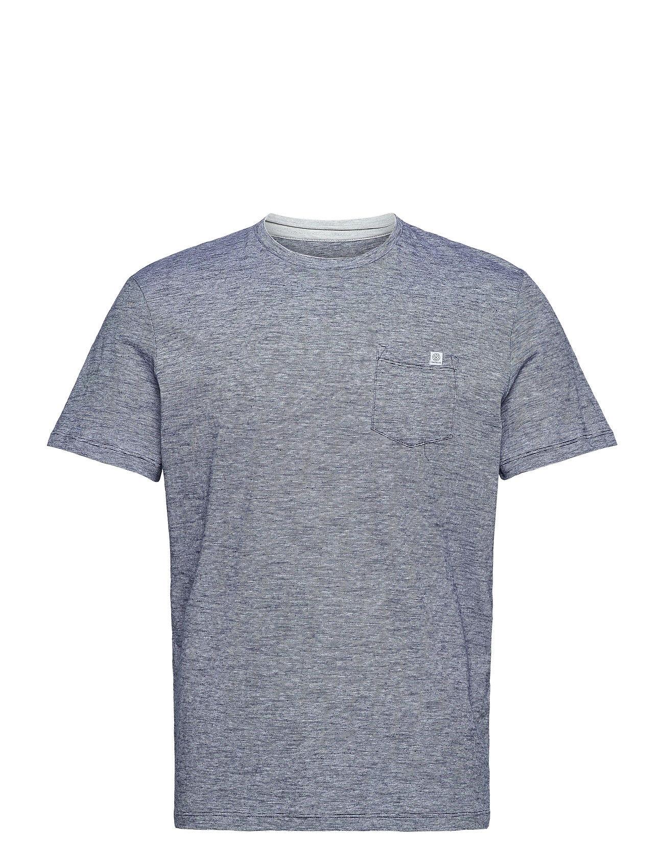 Tom Tailor Fineliner T- T-shirts Short-sleeved Harmaa Tom Tailor
