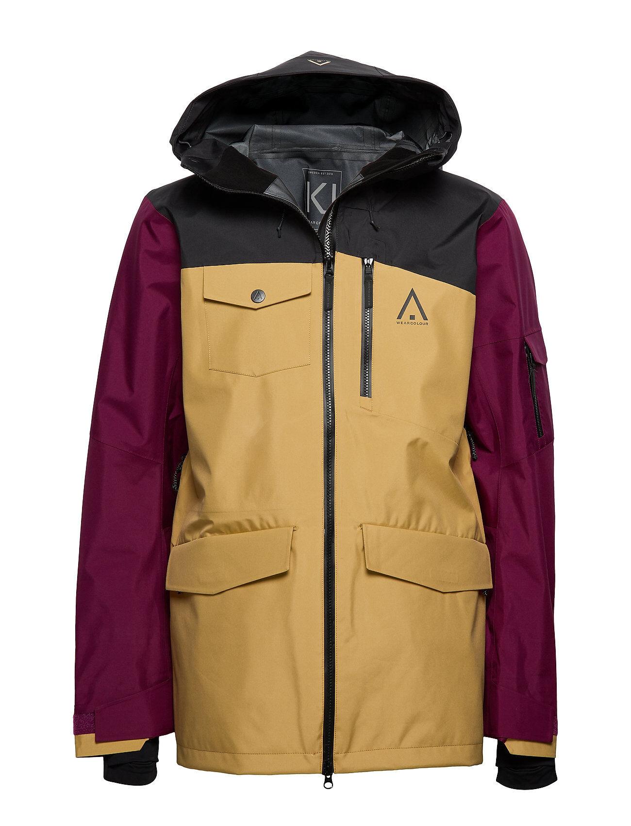 WearColour Hawk Jacket Outerwear Sport Jackets Monivärinen/Kuvioitu WearColour