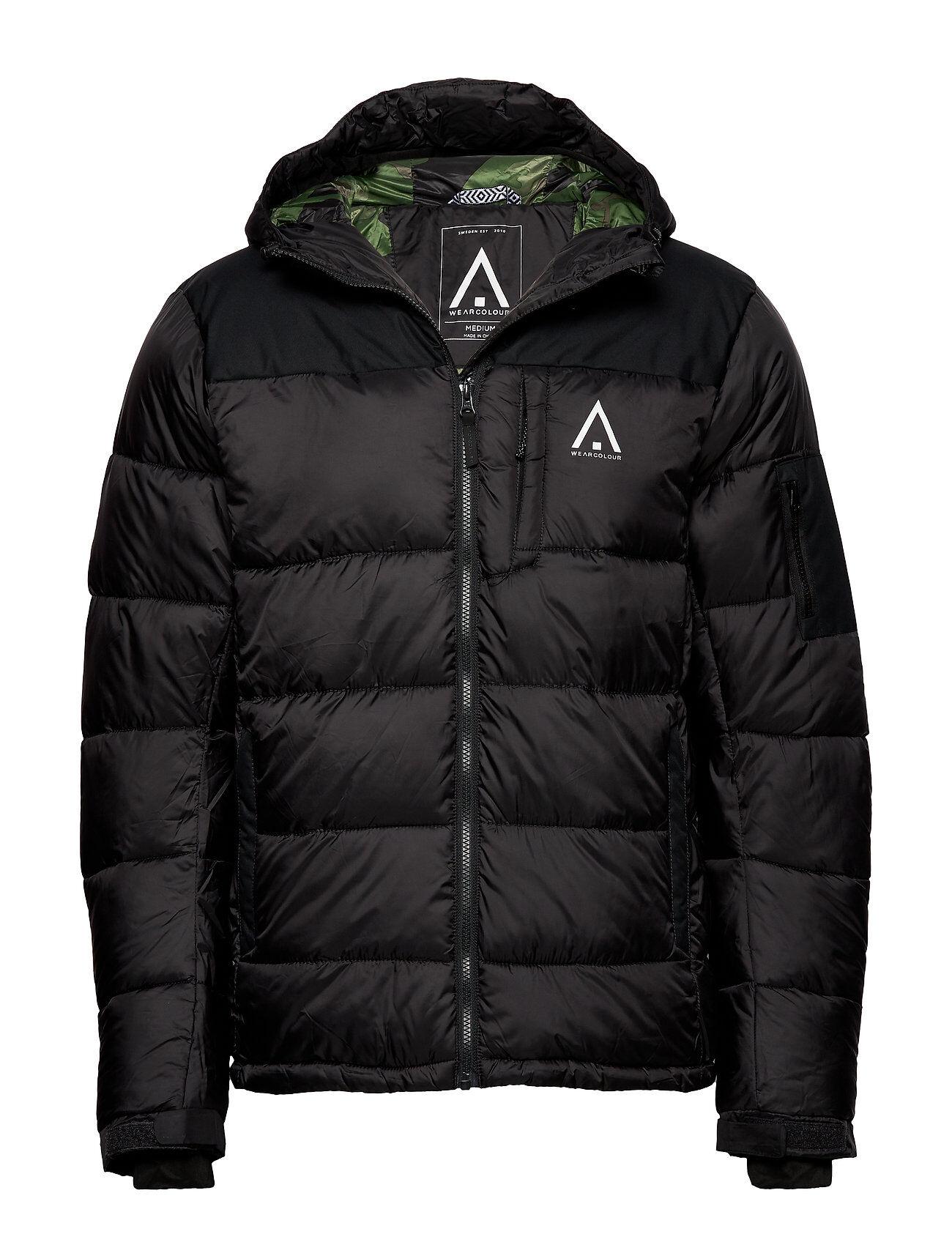 WearColour Zeal Jacket Outerwear Sport Jackets Musta WearColour