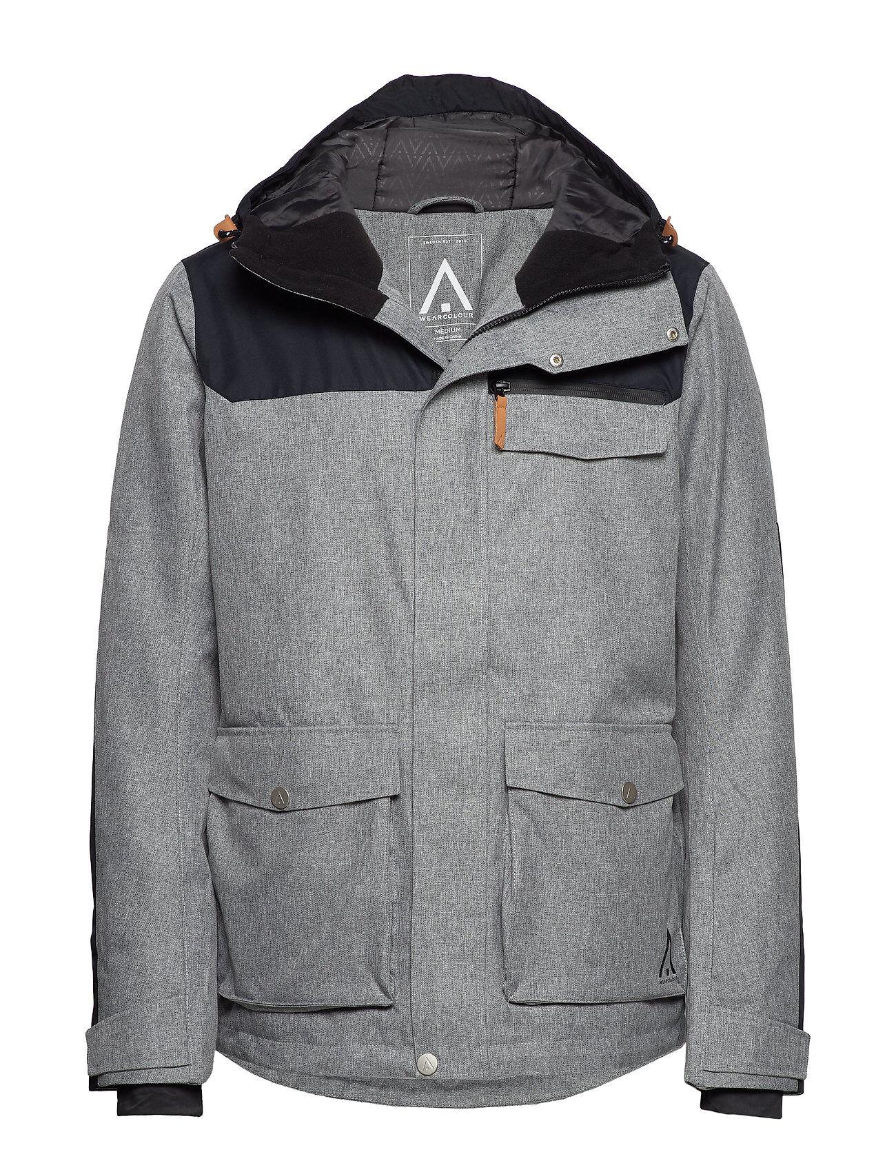 WearColour Roam Jacket Outerwear Sport Jackets Harmaa WearColour