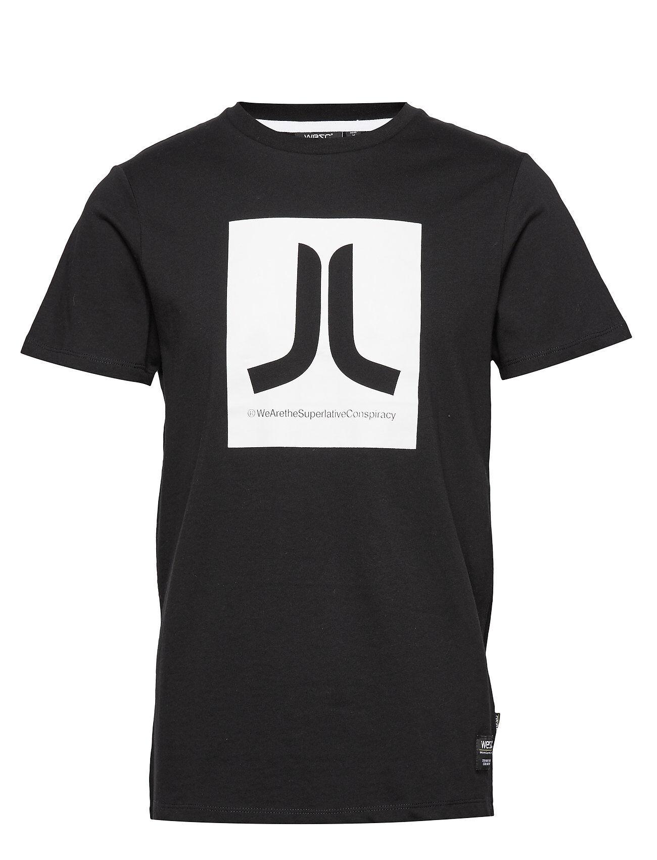 WeSC Box Icon T-Shirt T-shirts Short-sleeved Musta WeSC