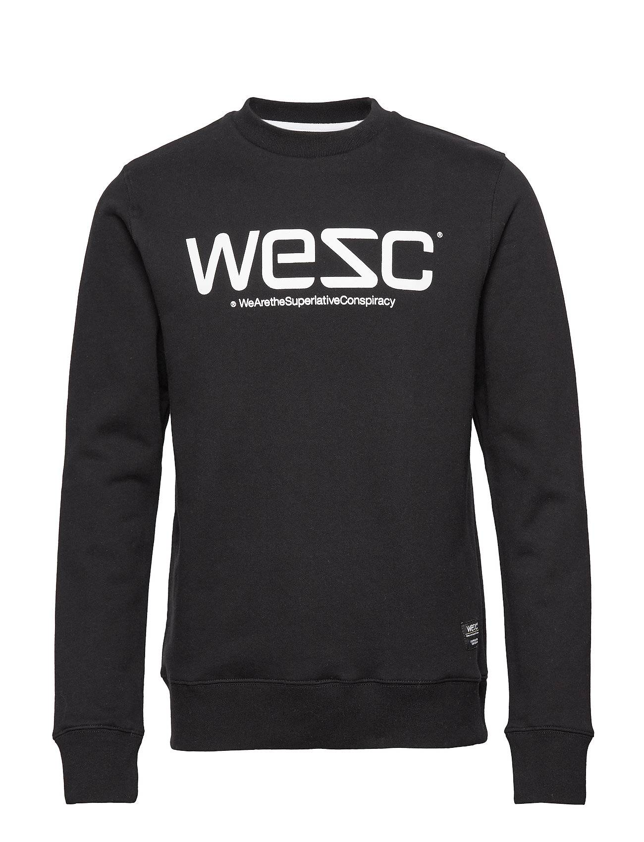 Wesc Sweatshirt Svetari Collegepaita Musta WeSC