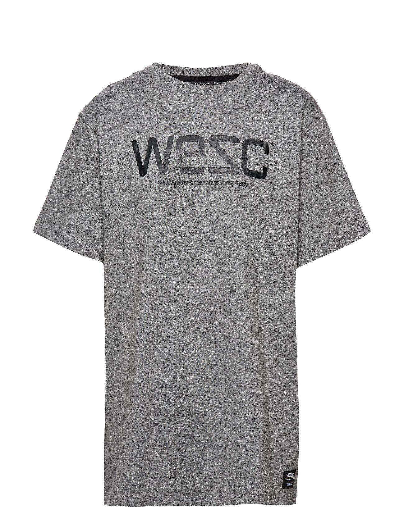 Wesc T-Shirt T-shirts Short-sleeved Harmaa WeSC
