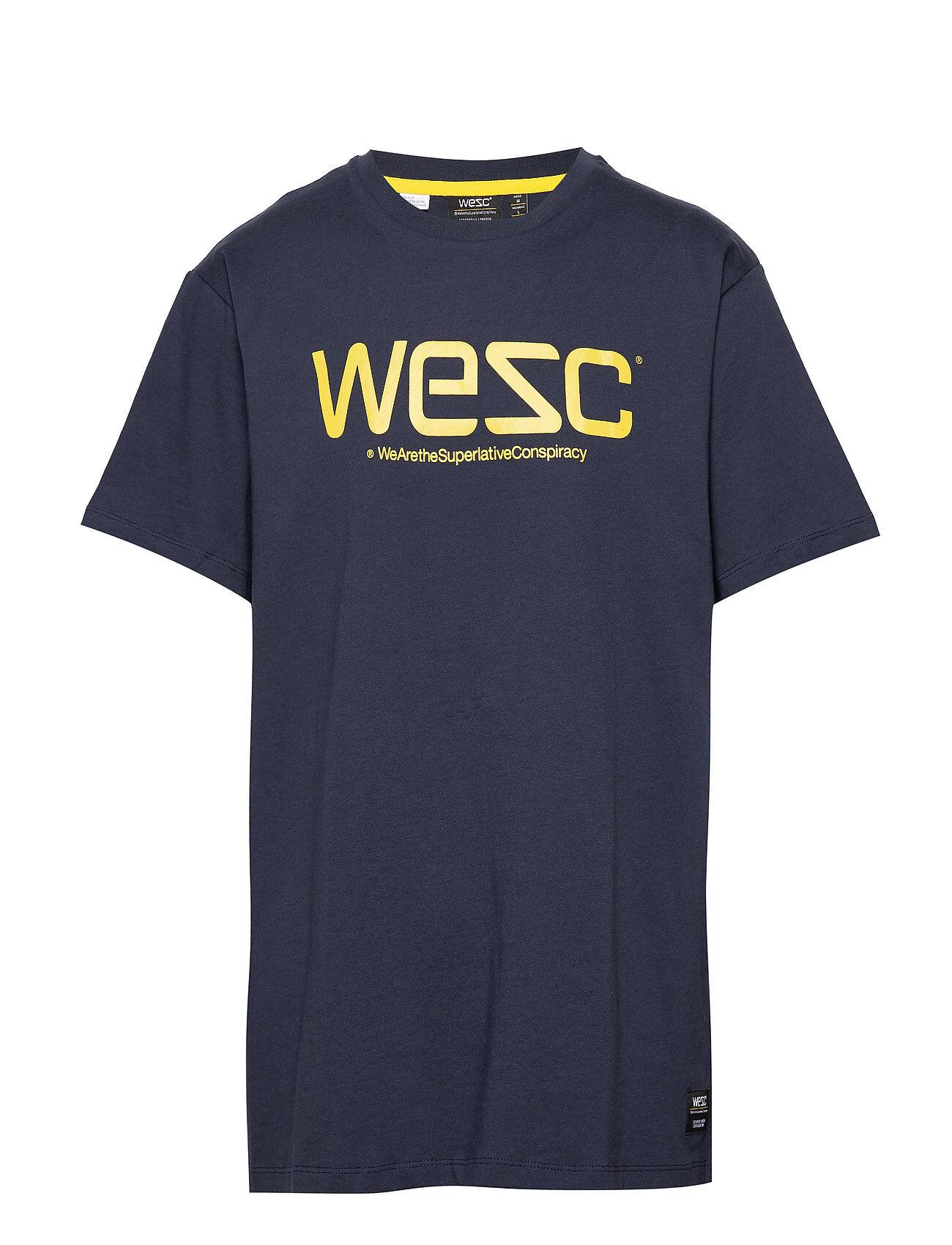 Wesc T-Shirt T-shirts Short-sleeved Sininen WeSC