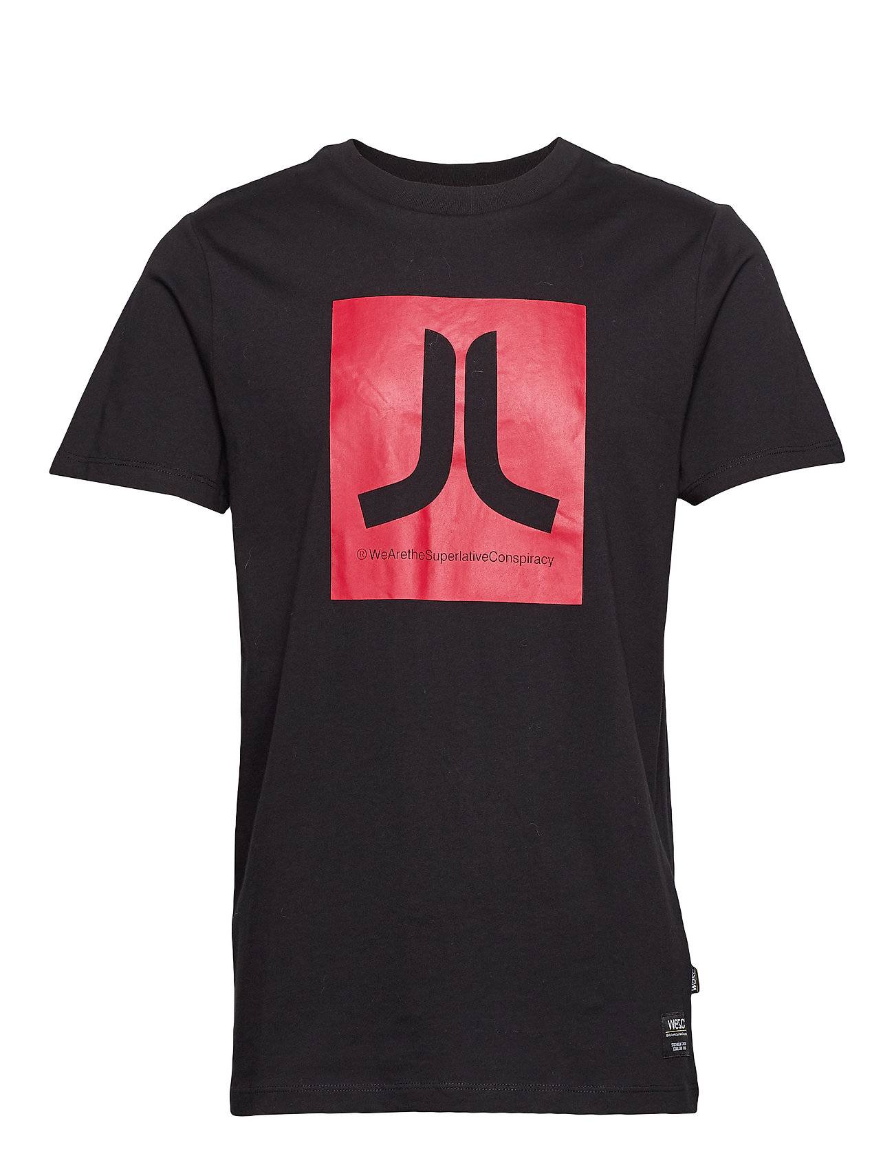 WeSC Max Icon T-Shirt T-shirts Short-sleeved Musta WeSC