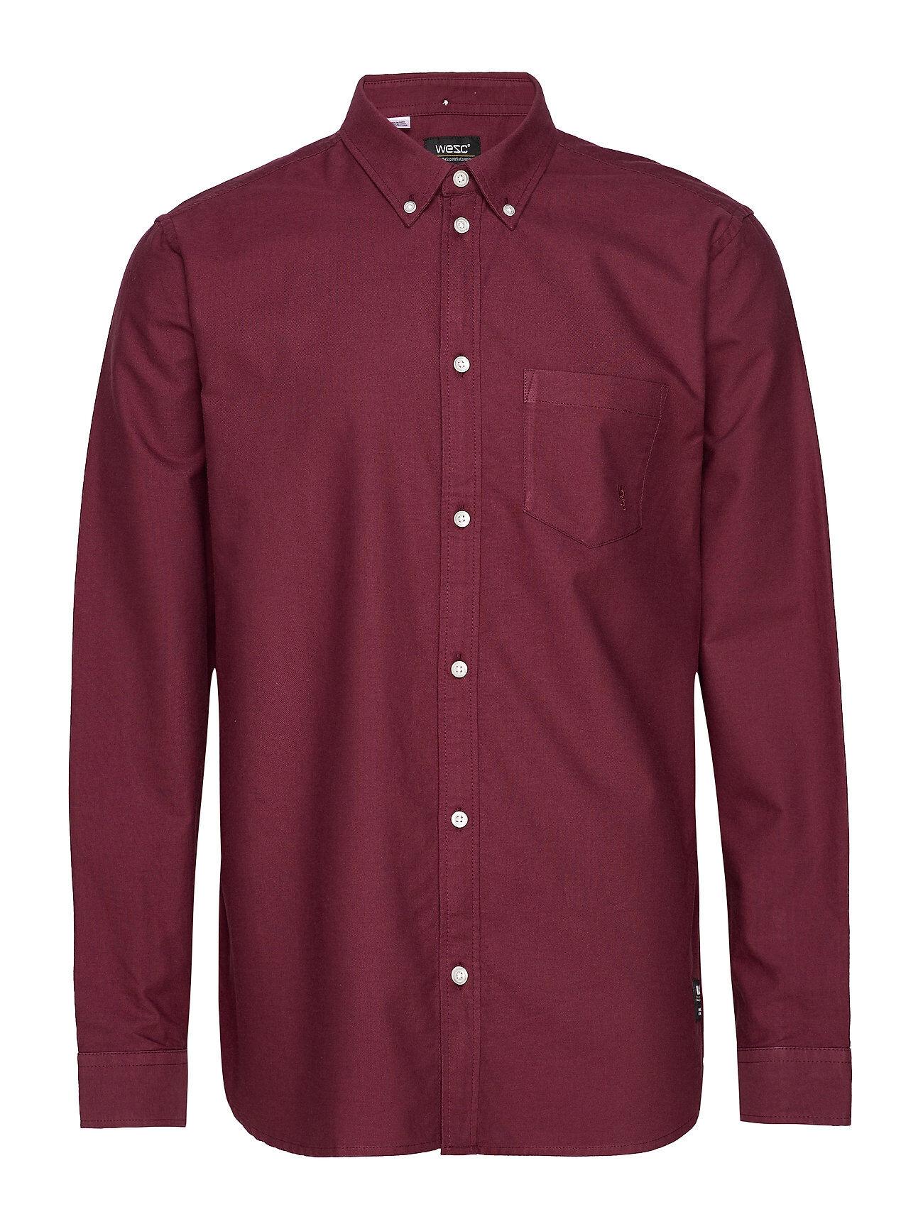 WeSC Oden Shirt Paita Rento Casual Punainen WeSC