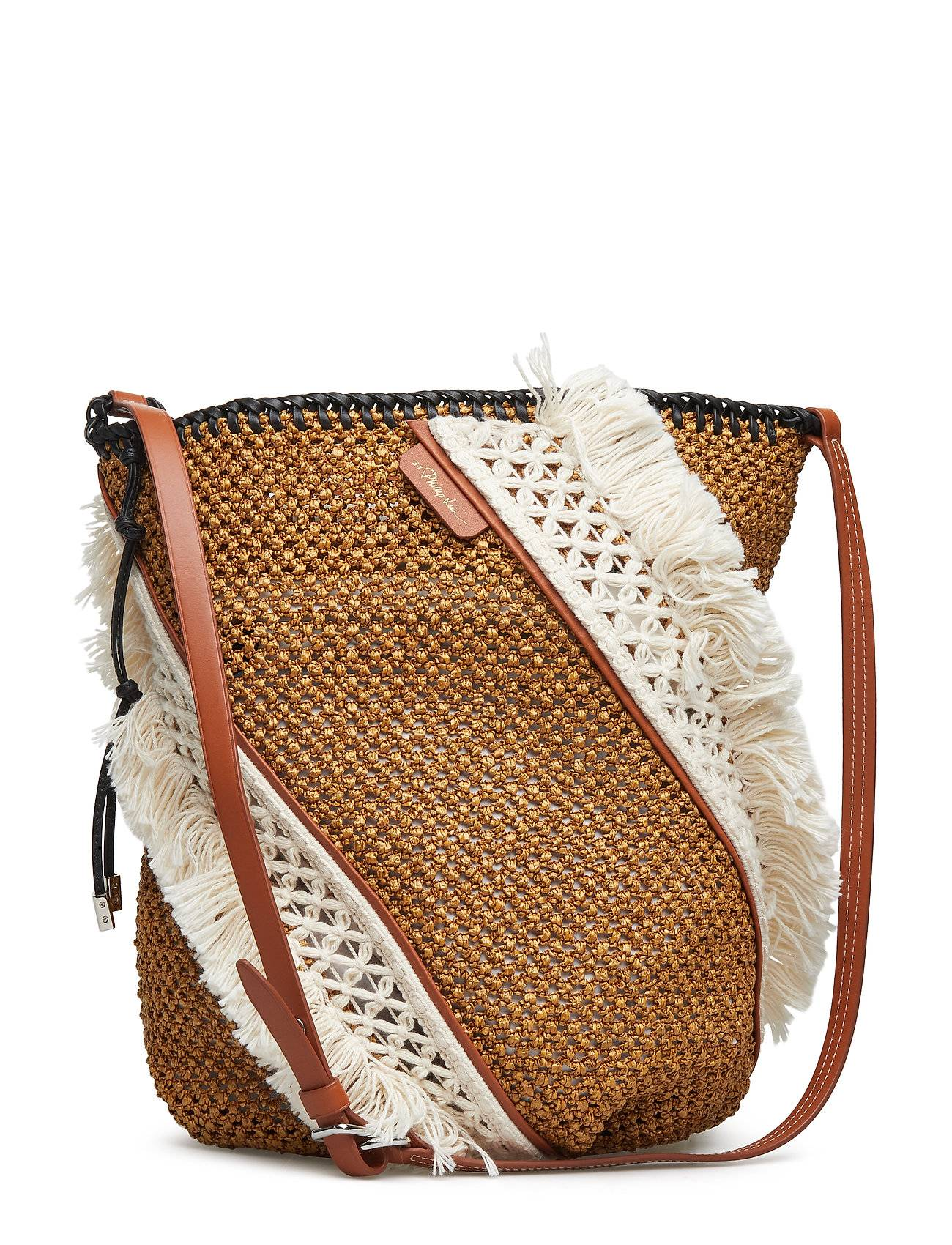 3.1 Phillip Lim Marlee Open Weave Bag W Fringe