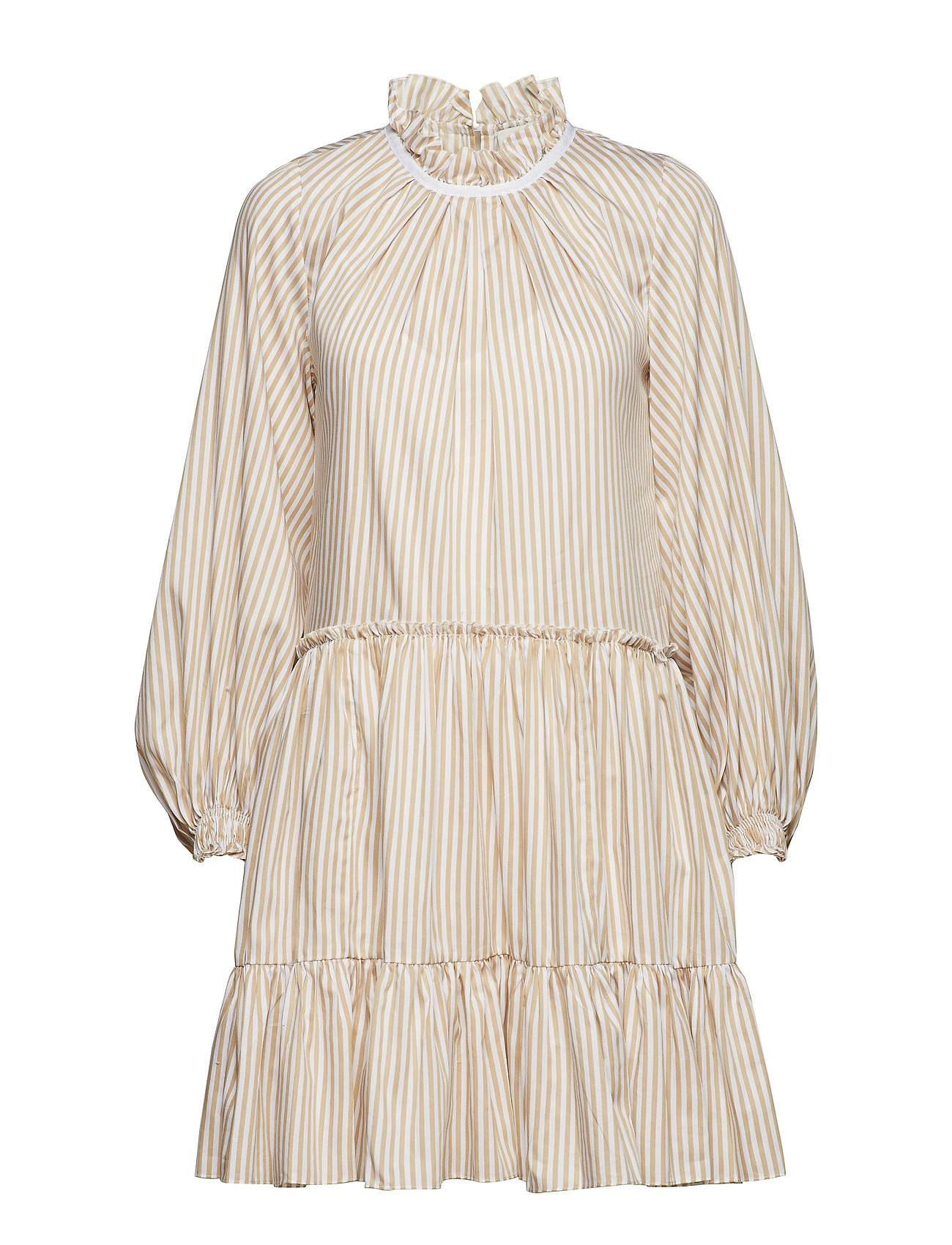 3.1 Phillip Lim Ls Striped Aline Mini Dress