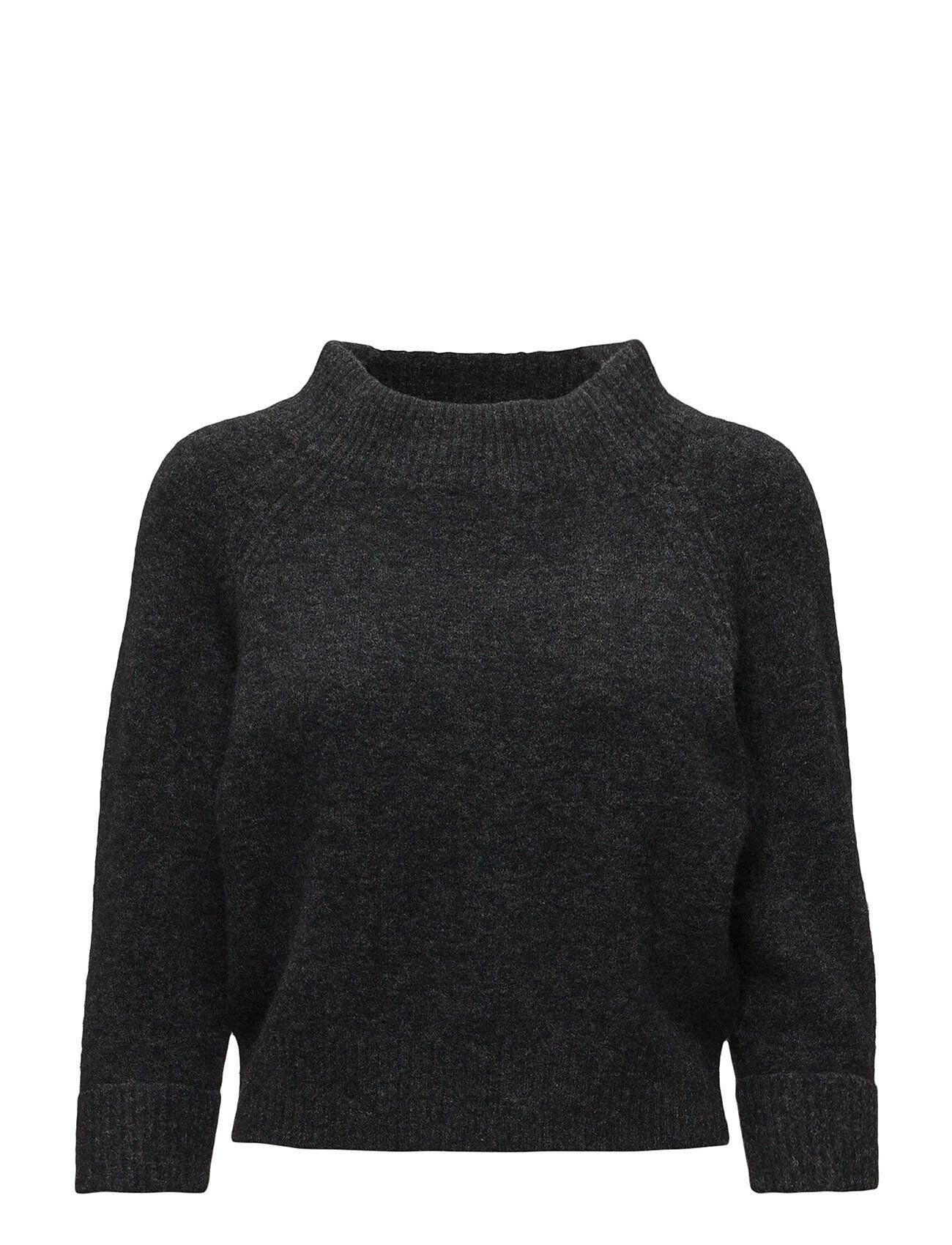 3.1 Phillip Lim Lofty 3/4 Slv Mock Neck Sweater