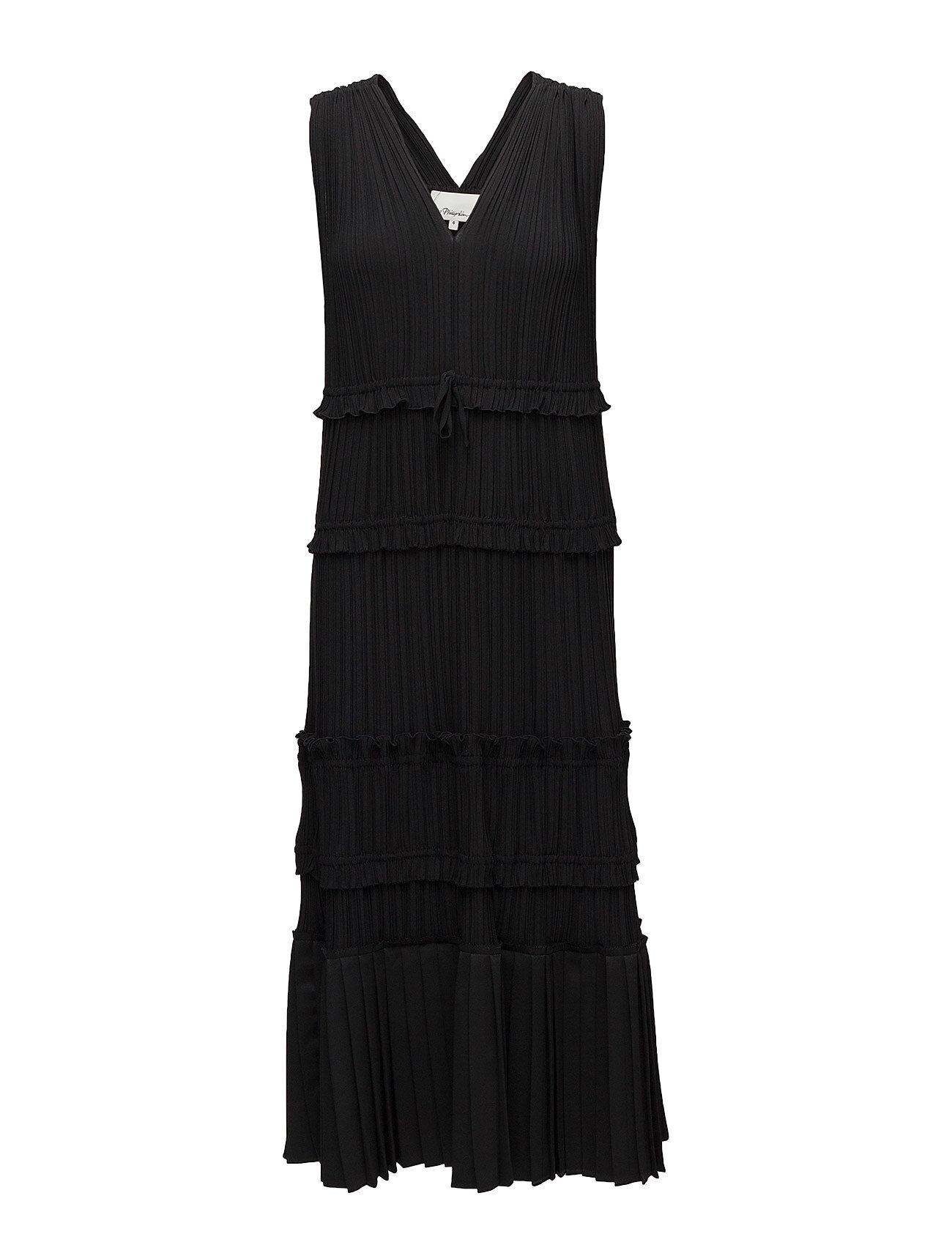 3.1 Phillip Lim Sl Pleated Vneck Dress