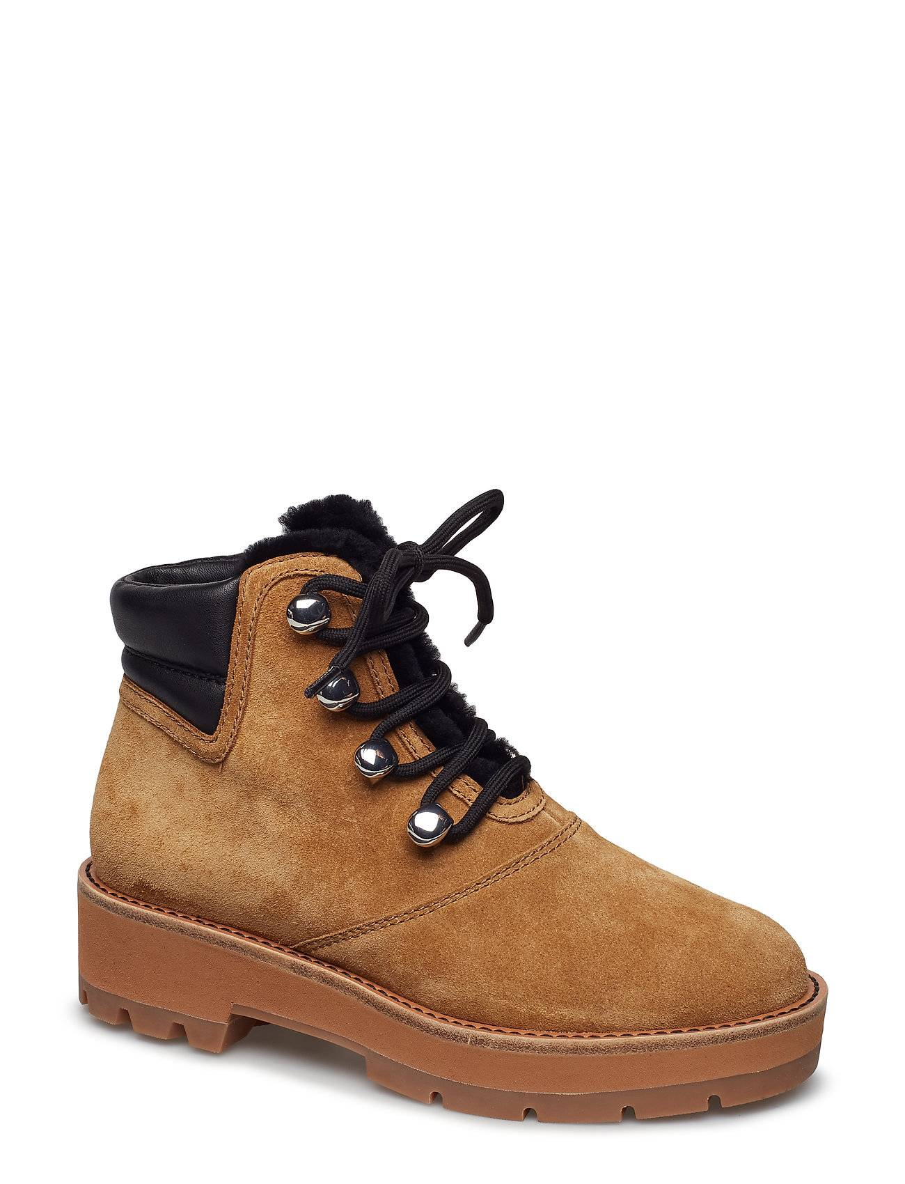 3.1 Phillip Lim Dylan - Shearling Lace Up Hiking Boot