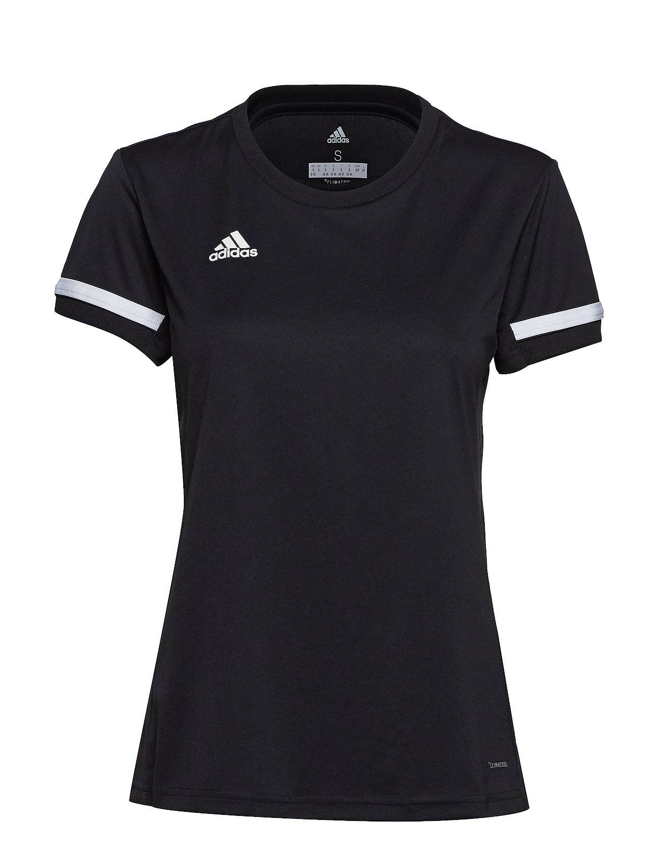 Image of adidas Performance T19 Ss Jsy W T-shirts & Tops Short-sleeved Musta Adidas Performance