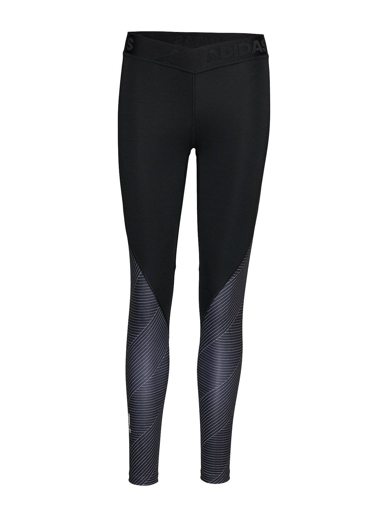 Image of adidas Performance Ask 7/8 Str T Running/training Tights Musta Adidas Performance