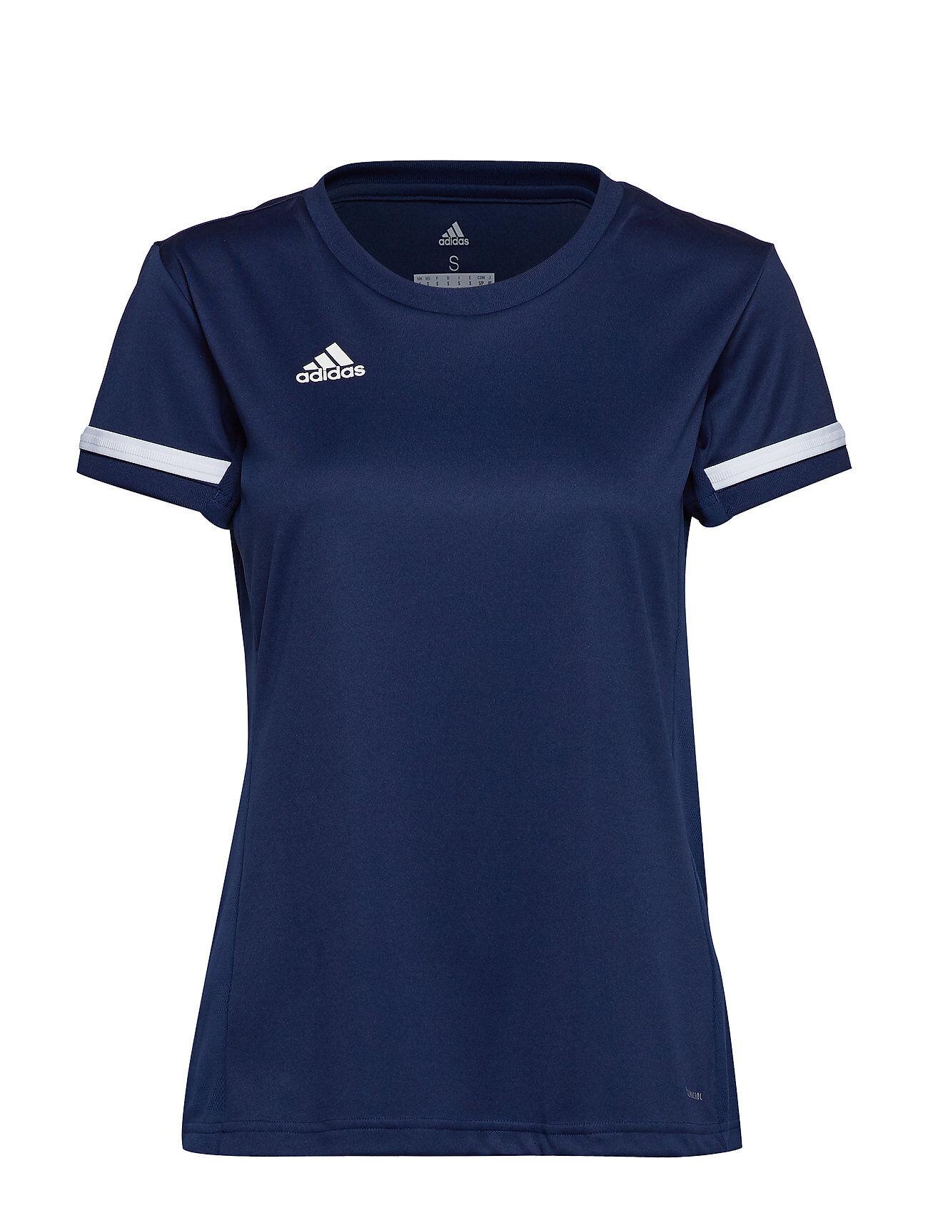 Image of adidas Performance T19 Ss Jsy W T-shirts & Tops Short-sleeved Sininen Adidas Performance