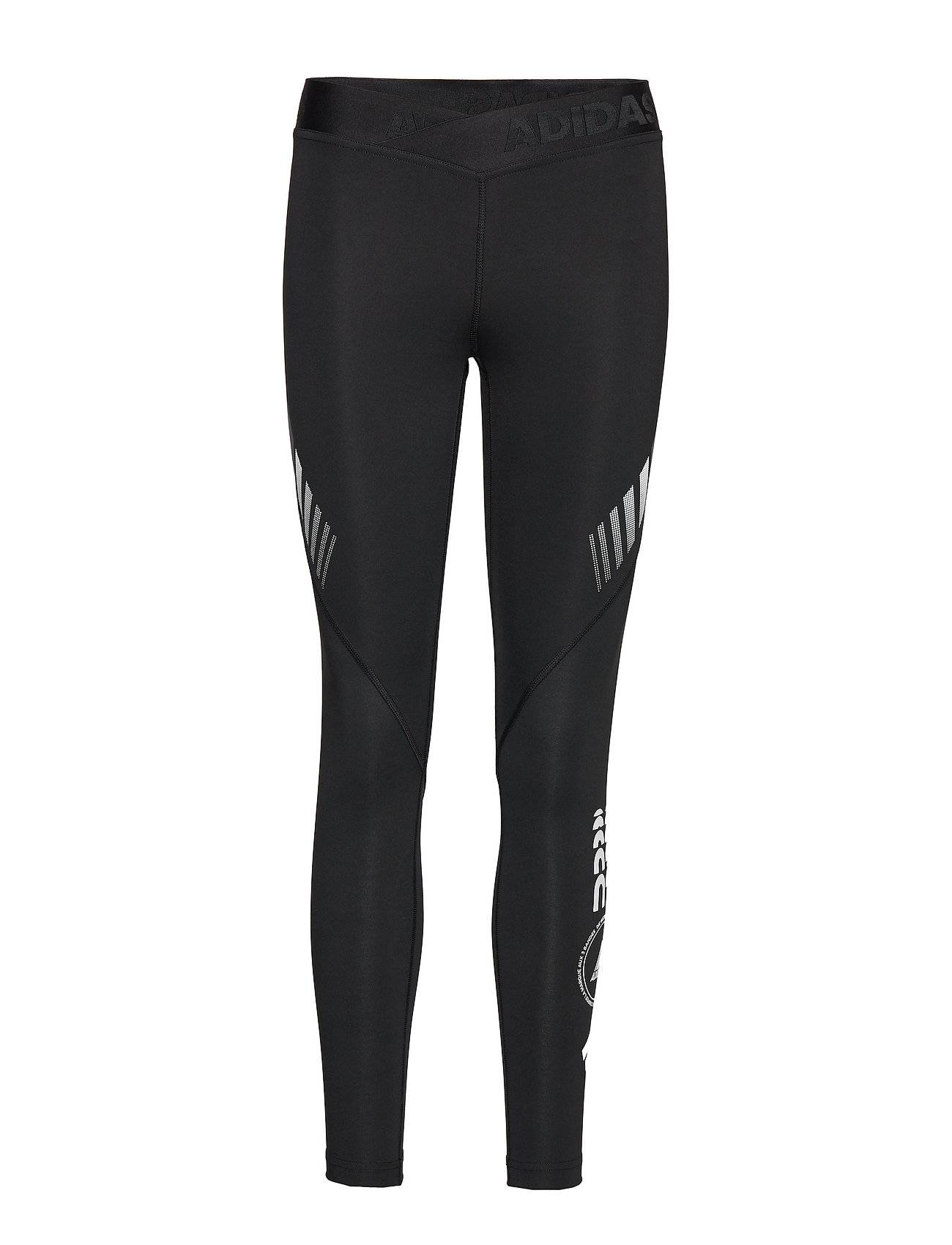 Image of adidas Performance Ask L Moto T Running/training Tights Musta Adidas Performance