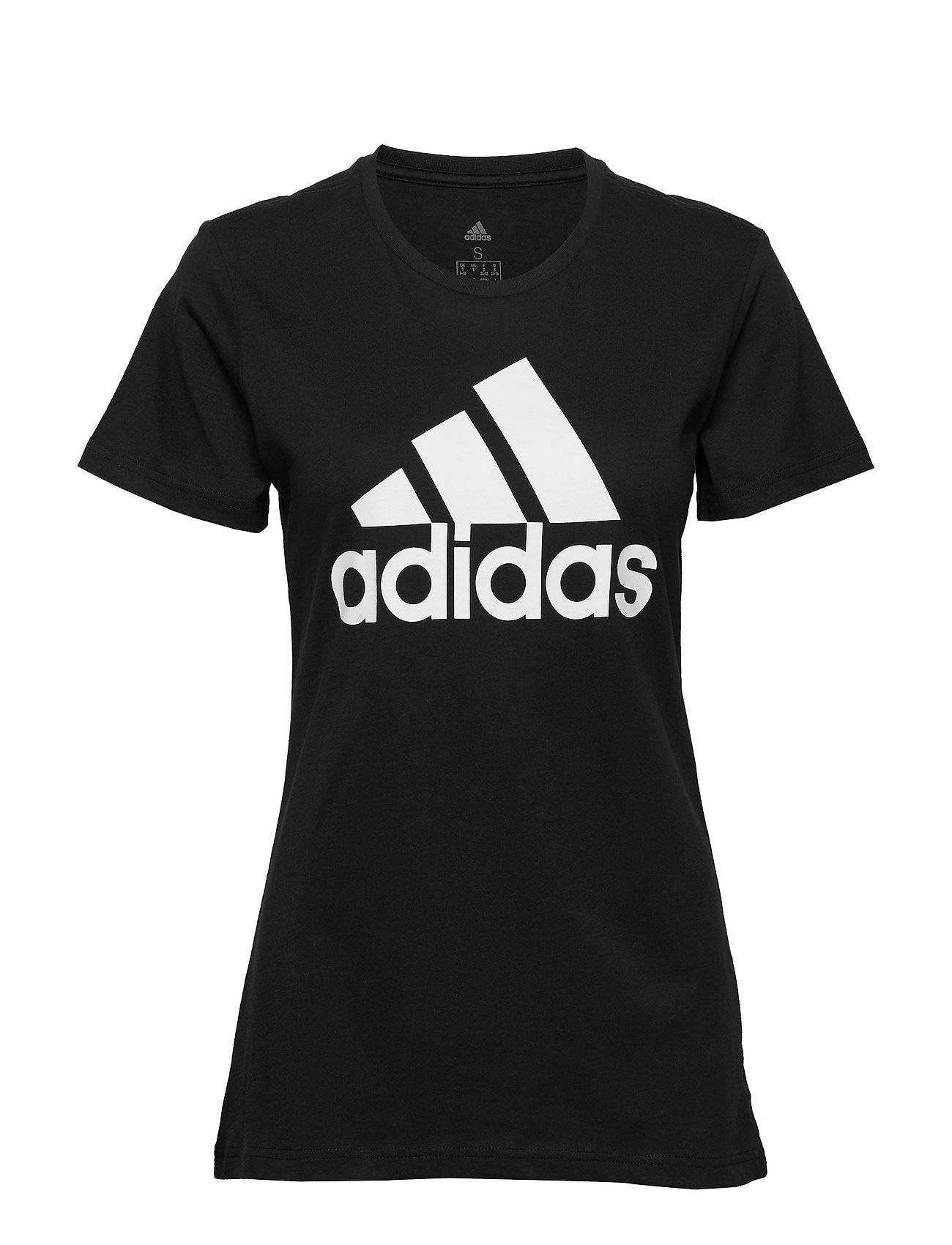 Image of adidas Performance W Bos Co Tee T-shirts & Tops Short-sleeved Musta Adidas Performance