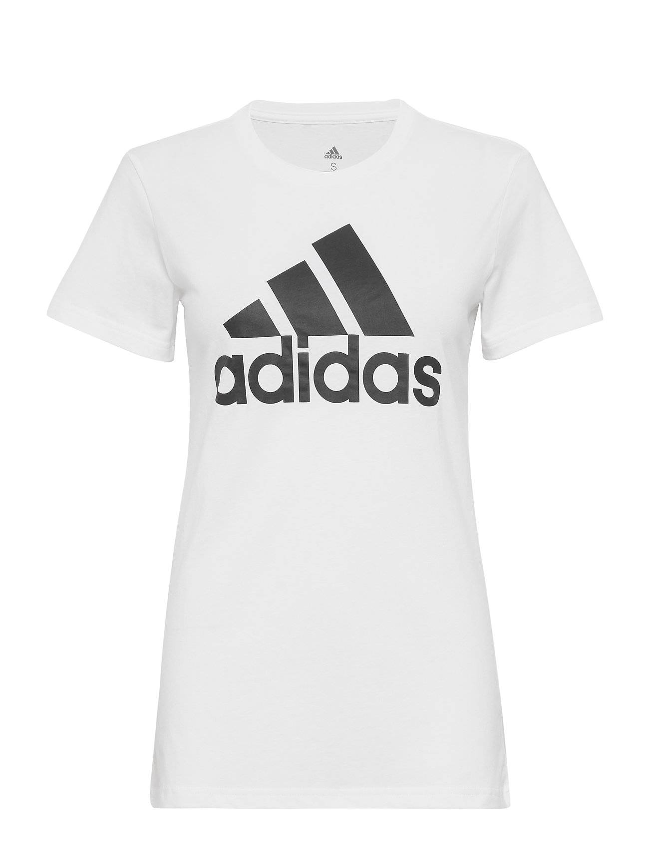 Image of adidas Performance W Bos Co Tee T-shirts & Tops Short-sleeved Valkoinen Adidas Performance