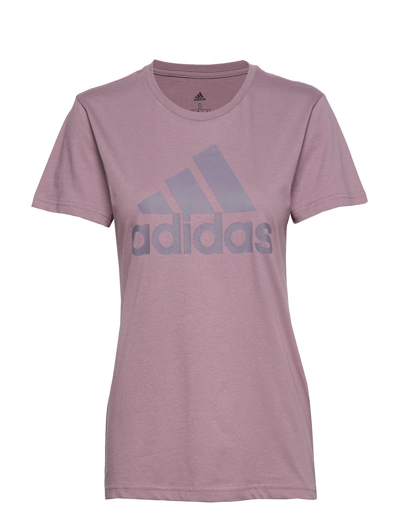Image of adidas Performance W Bos Co Tee T-shirts & Tops Short-sleeved Liila Adidas Performance