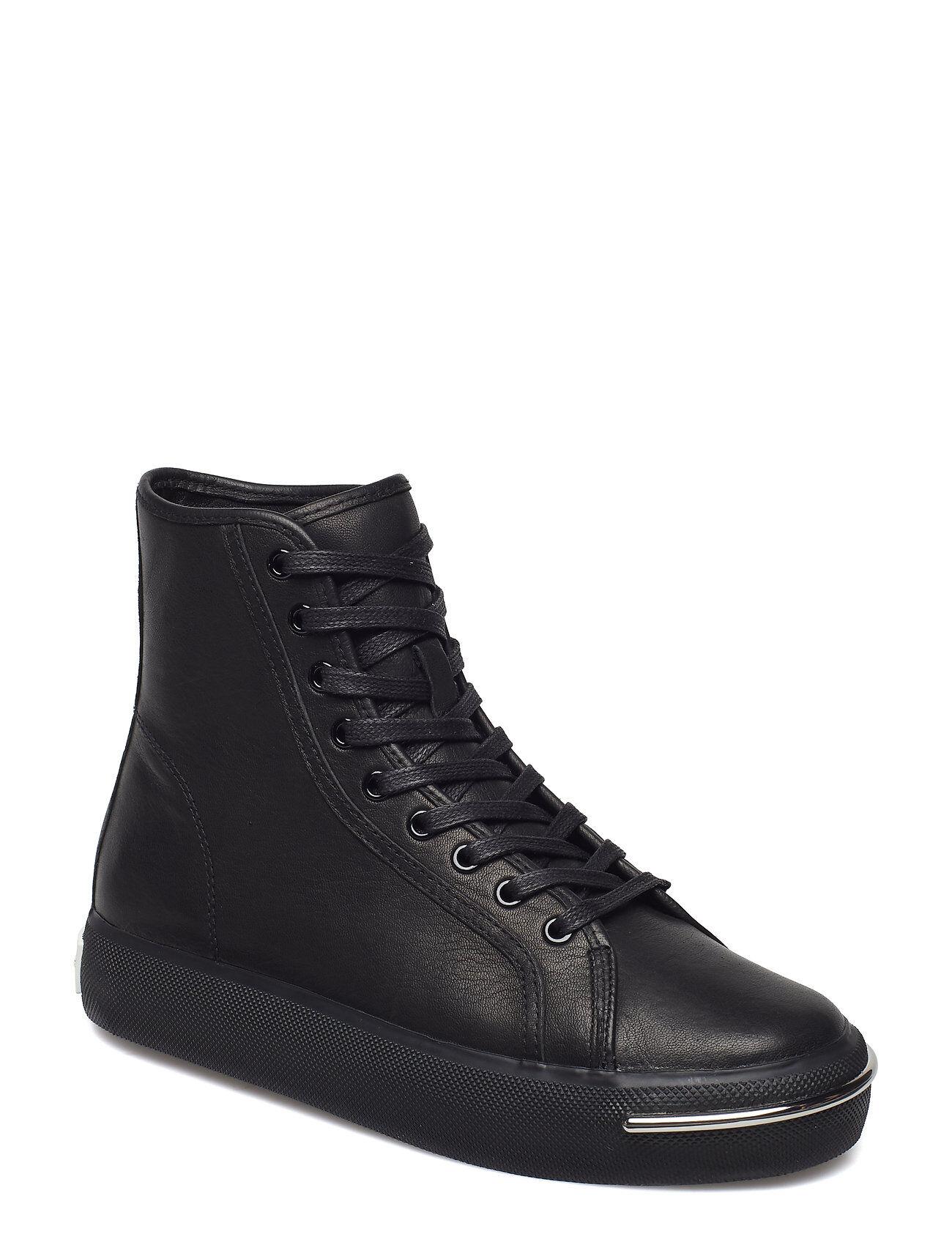 Alexander Wang Pia Black Leather