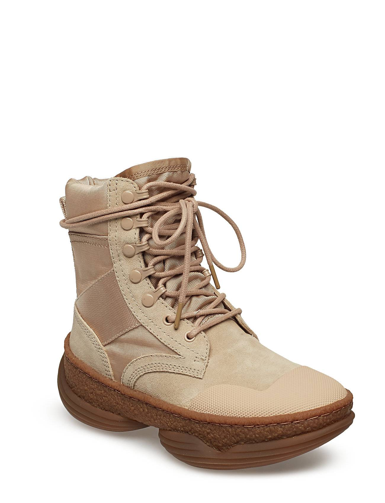 Alexander Wang A1 Combat Boot Sand Suede/Canvas