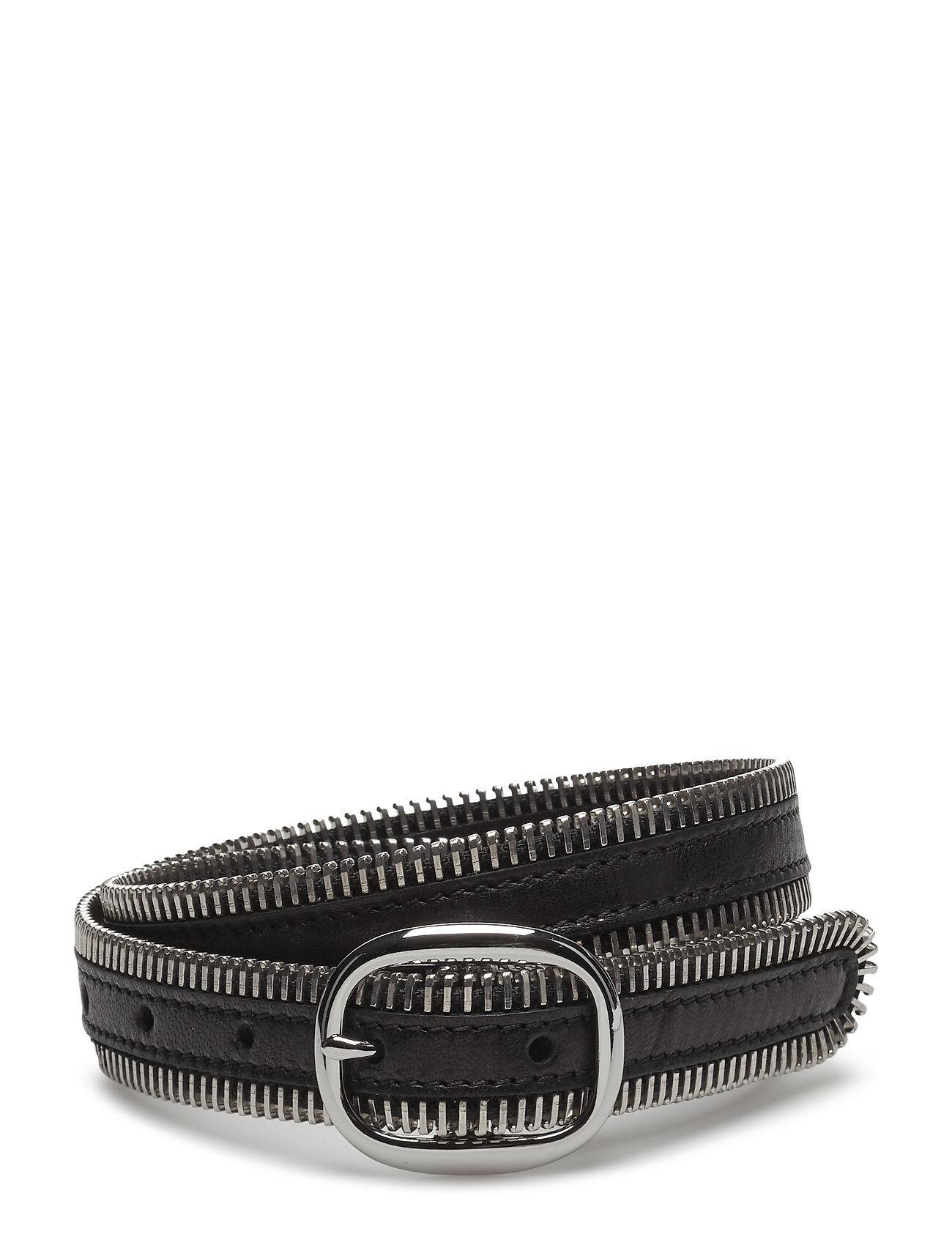 Alexander Wang Zipper Teeth Edge Belt