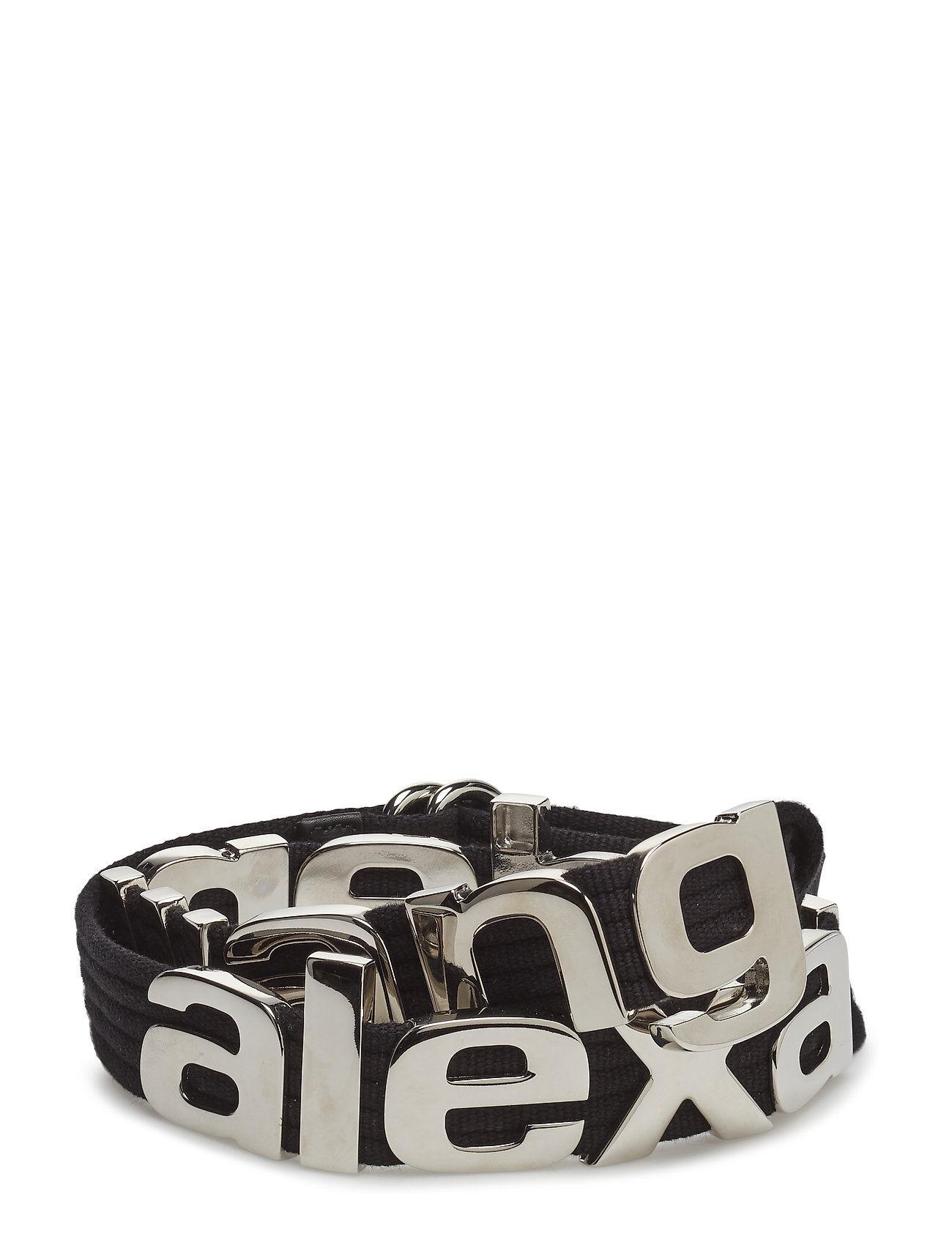 Alexander Wang Metal Letters Belt