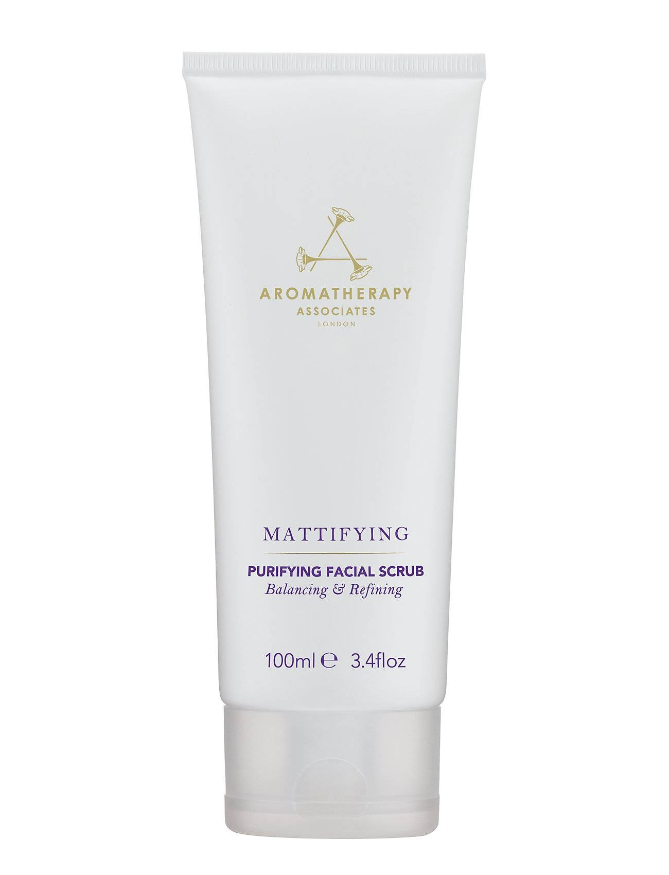 Aromatherapy Associates Mattifying Purrifying Facial Scrub Kuorinta-aine Kasvojen Kuorinta Nude Aromatherapy Associates