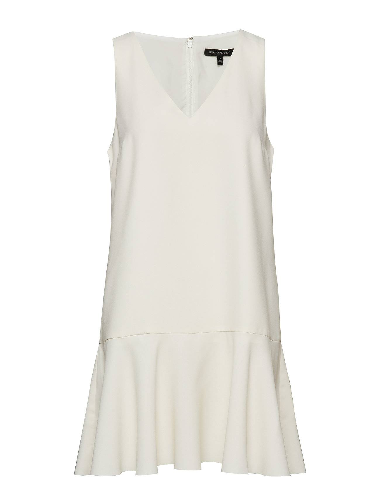 Image of Banana Republic Drop-Waist Shift Dress Lyhyt Mekko Valkoinen Banana Republic