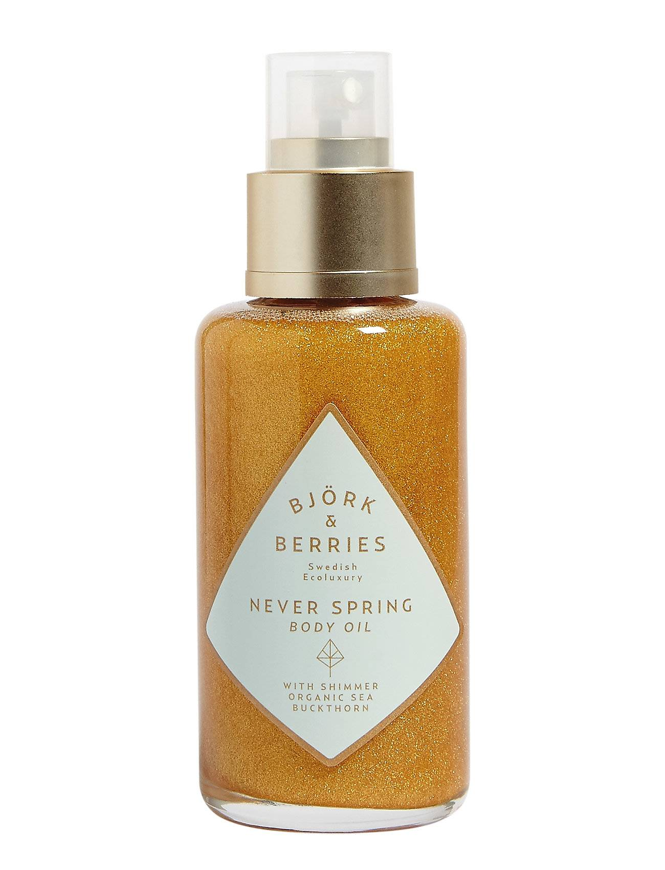 Björk & Berries Never Spring Shimmering Body Oil