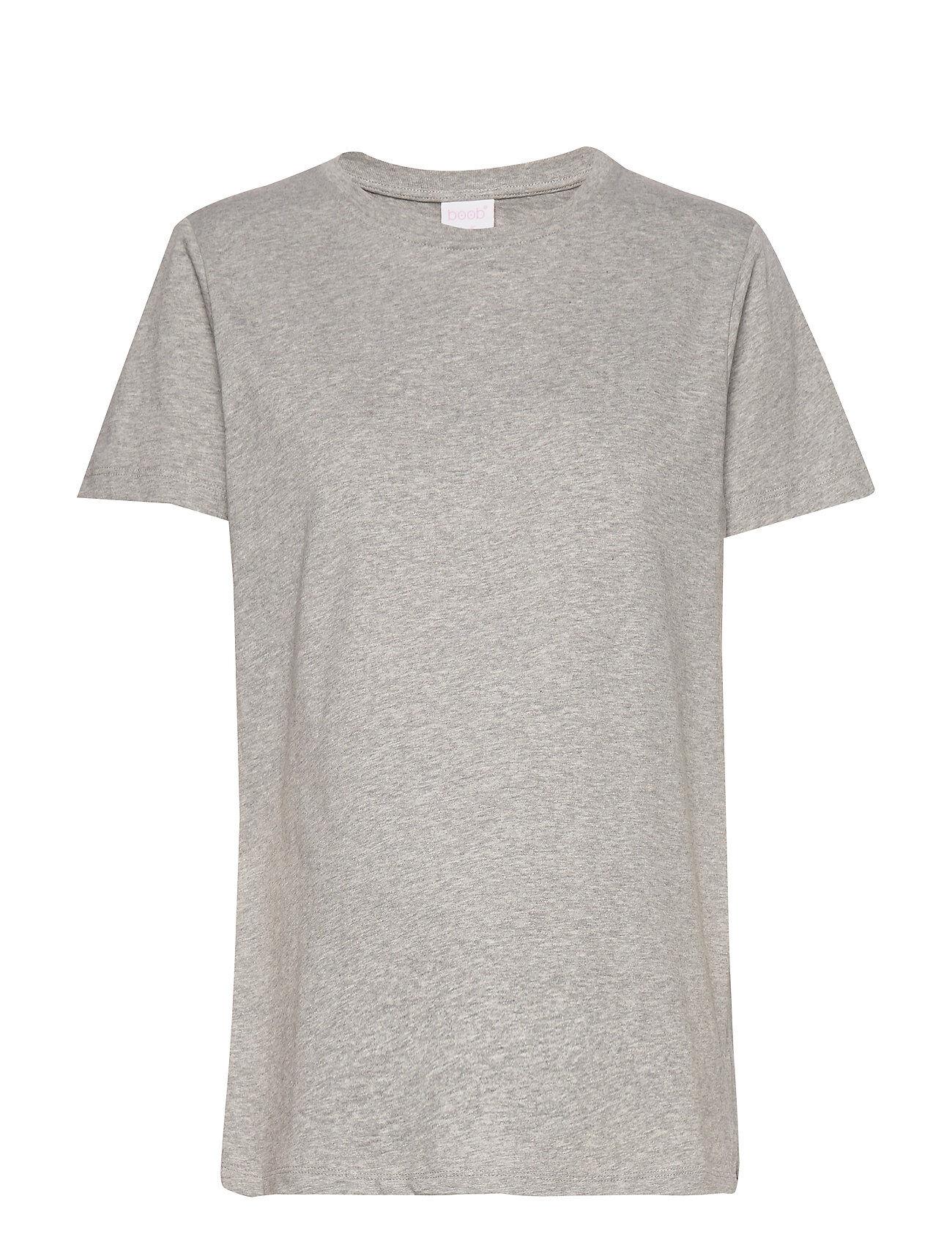Boob The-Shirt T-shirts & Tops Short-sleeved Harmaa Boob