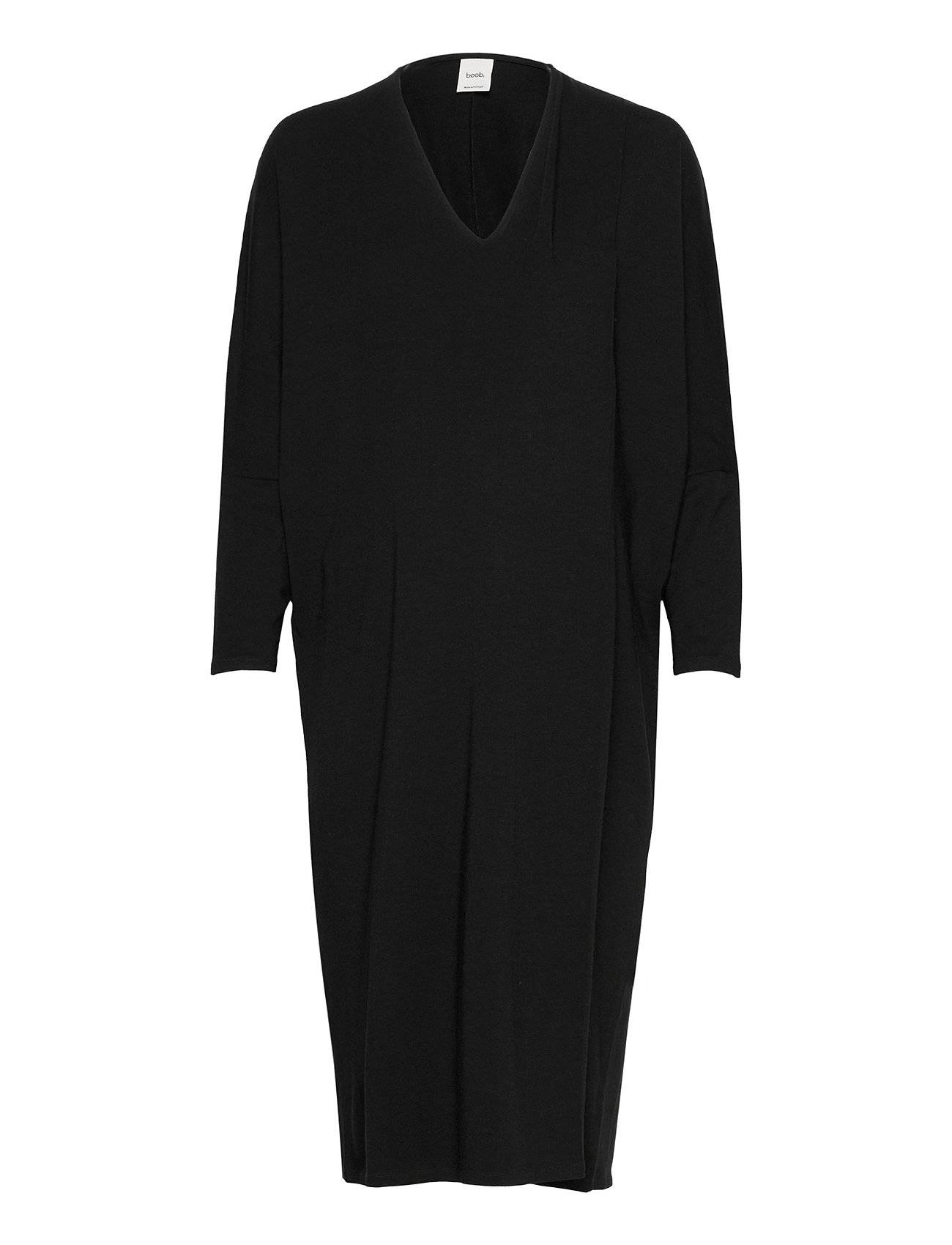 Boob Debbie Dress Polvipituinen Mekko Musta Boob