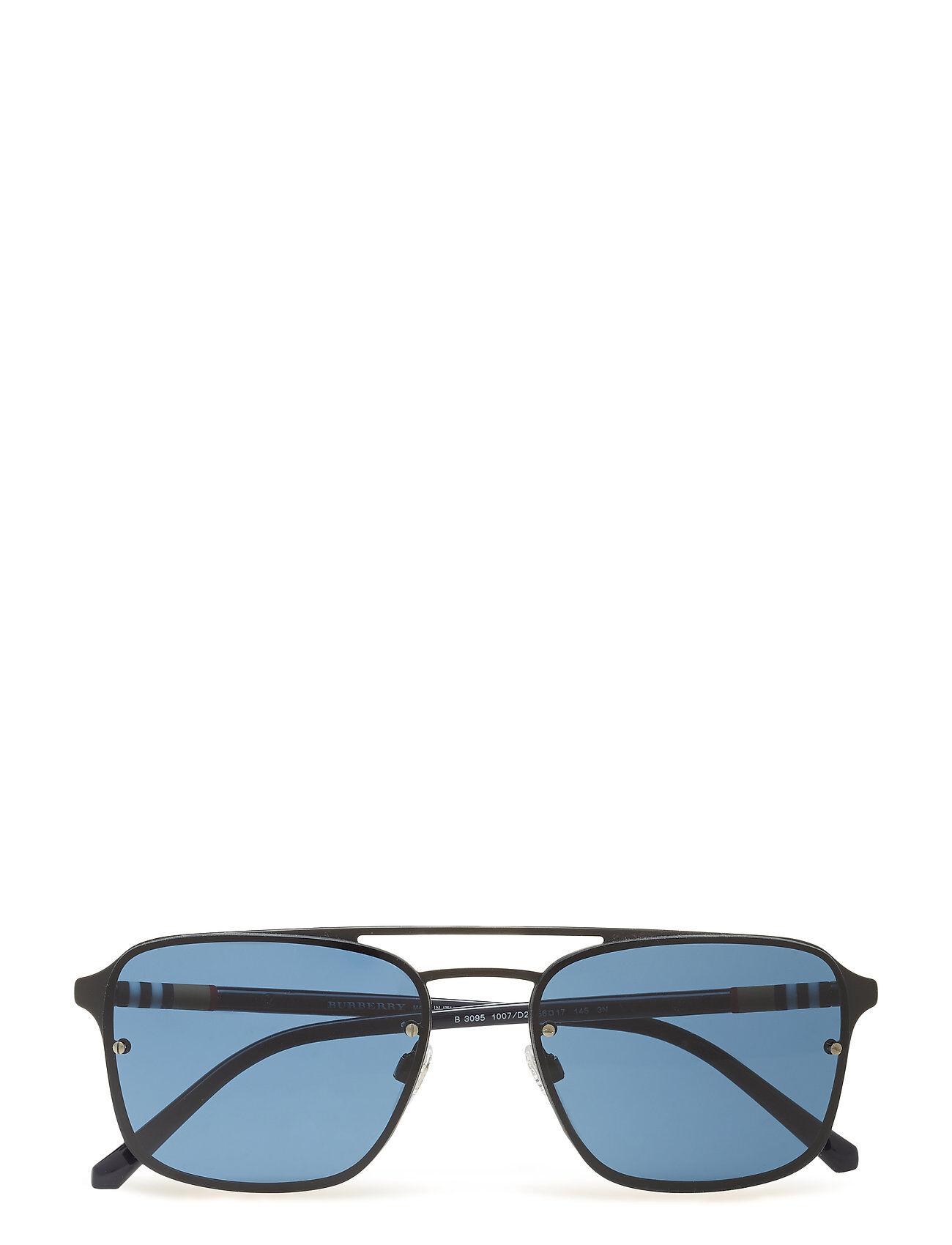 Image of Burberry Sunglasses 0be3095 Pilottilasit Aurinkolasit Sininen Burberry Sunglasses