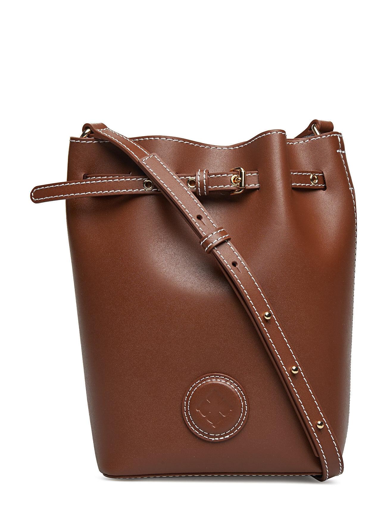 BY MALENE BIRGER Ema Mini Bags Bucket Bag Ruskea BY MALENE BIRGER