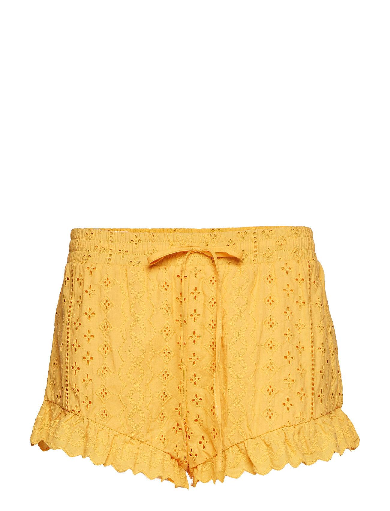 By Malina Jessie Shorts Shorts Flowy Shorts/Casual Shorts Keltainen By Malina