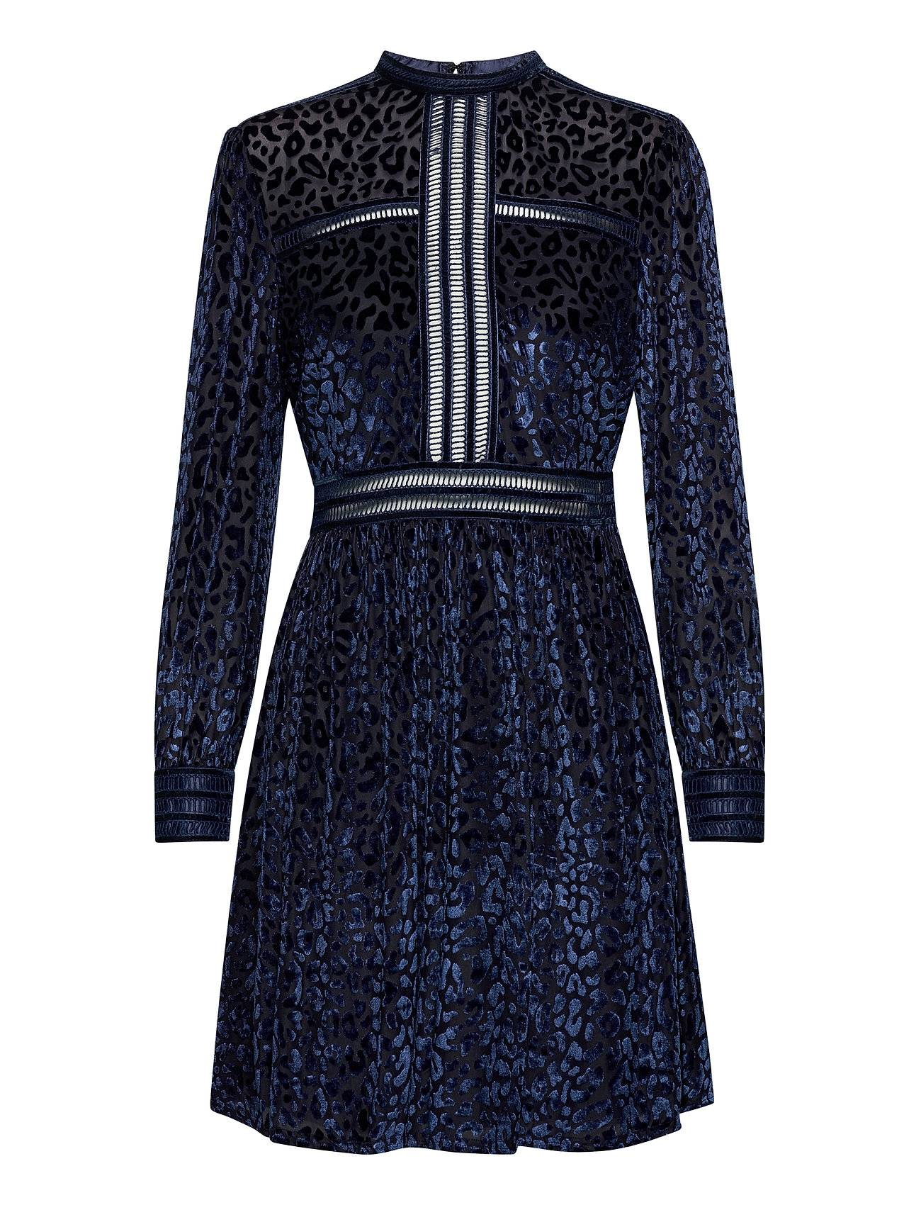 By Malina Paolina Mini Dress Lyhyt Mekko Sininen By Malina