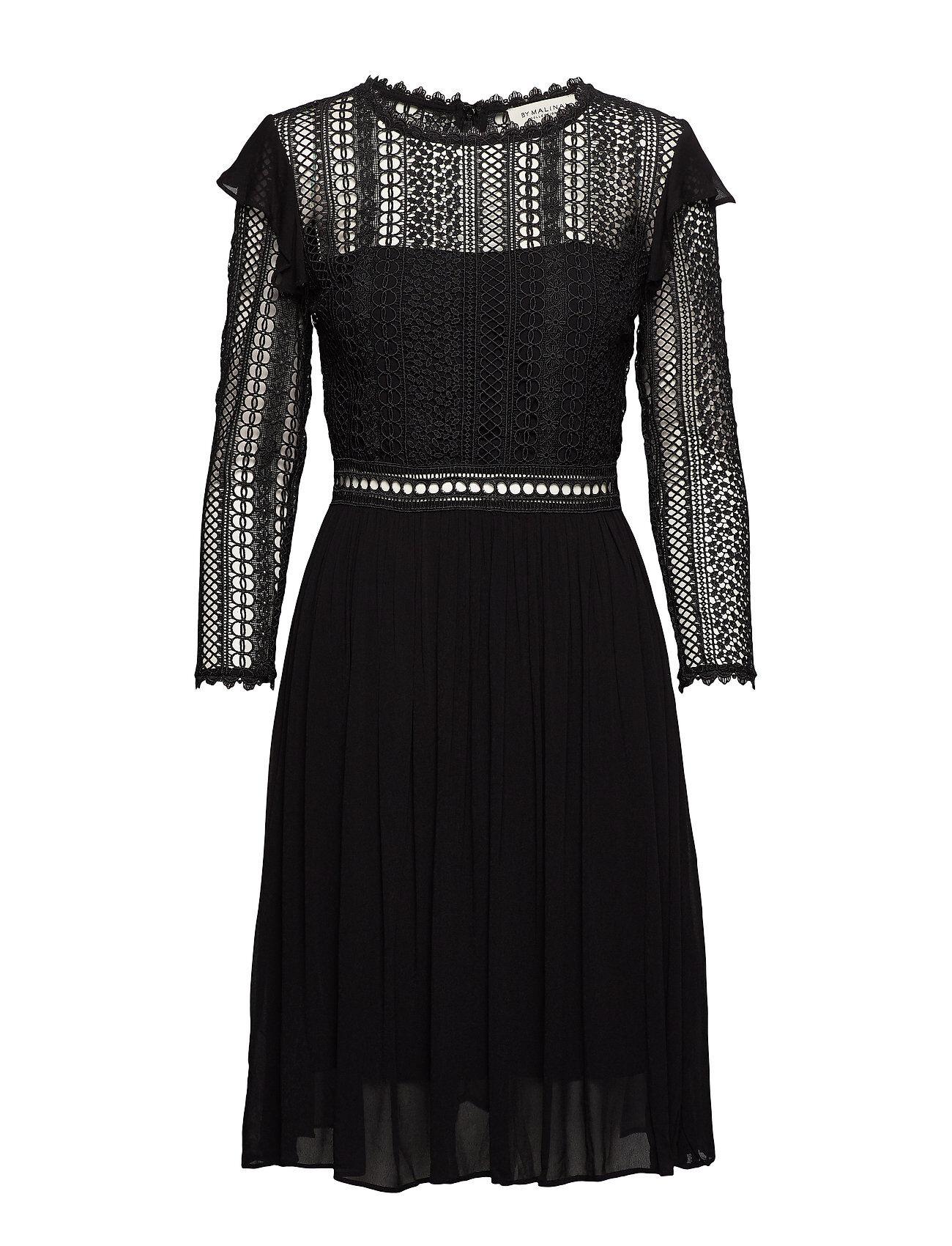 By Malina Marilene Dress Polvipituinen Mekko Musta By Malina
