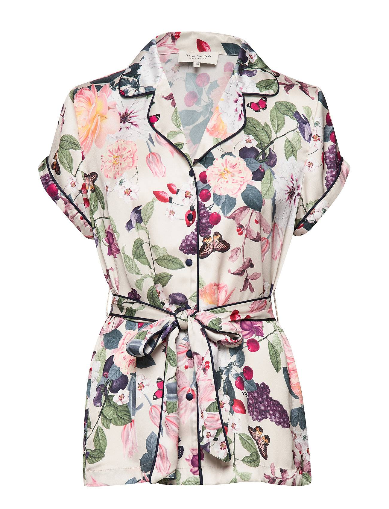 By Malina Sorella Blouse Blouses Short-sleeved Monivärinen/Kuvioitu By Malina