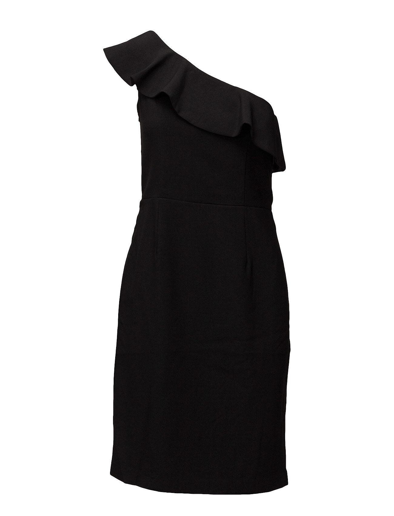 By Malina Tulip Dress Lyhyt Mekko Musta By Malina