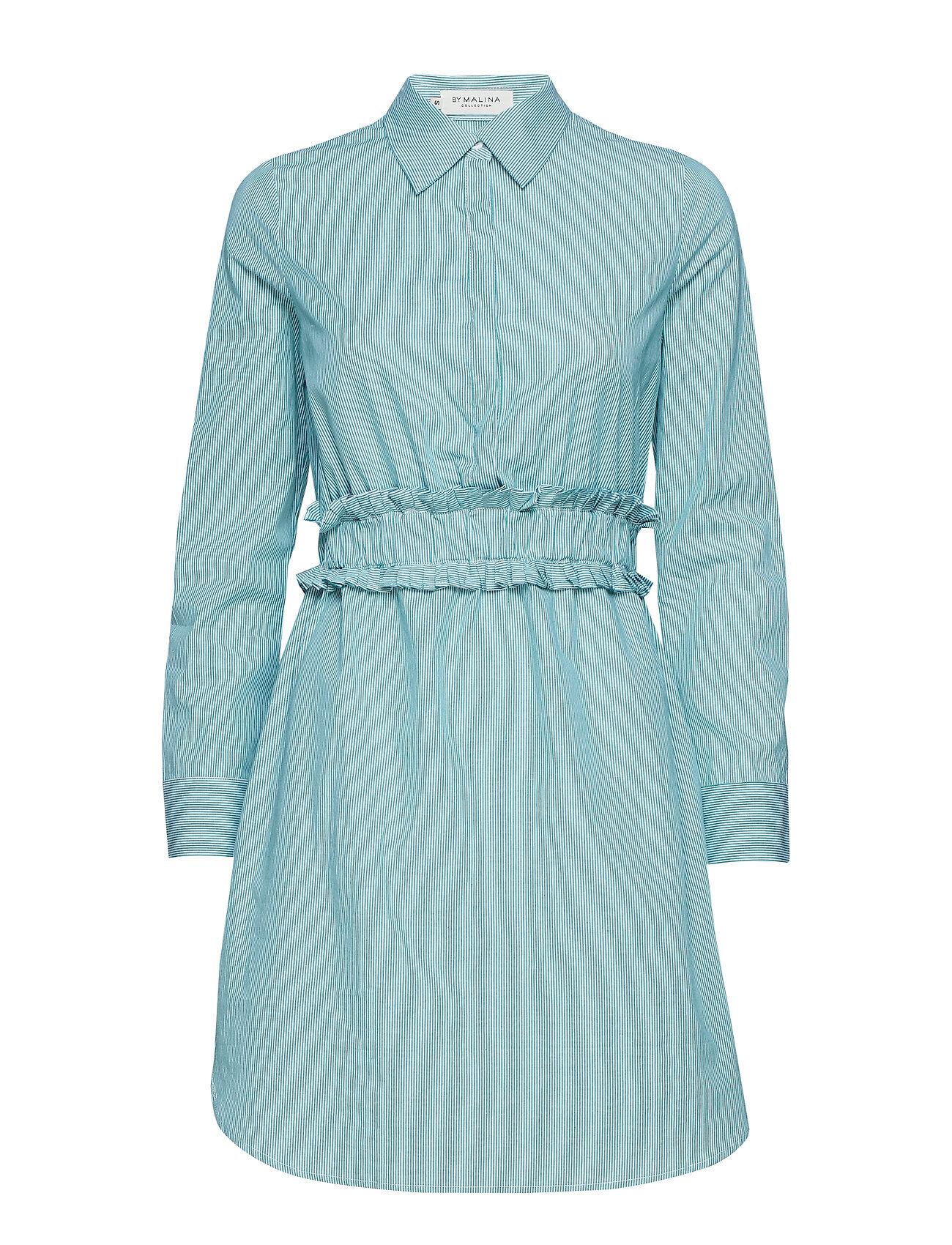By Malina Saana Shirt Dress Lyhyt Mekko Sininen By Malina