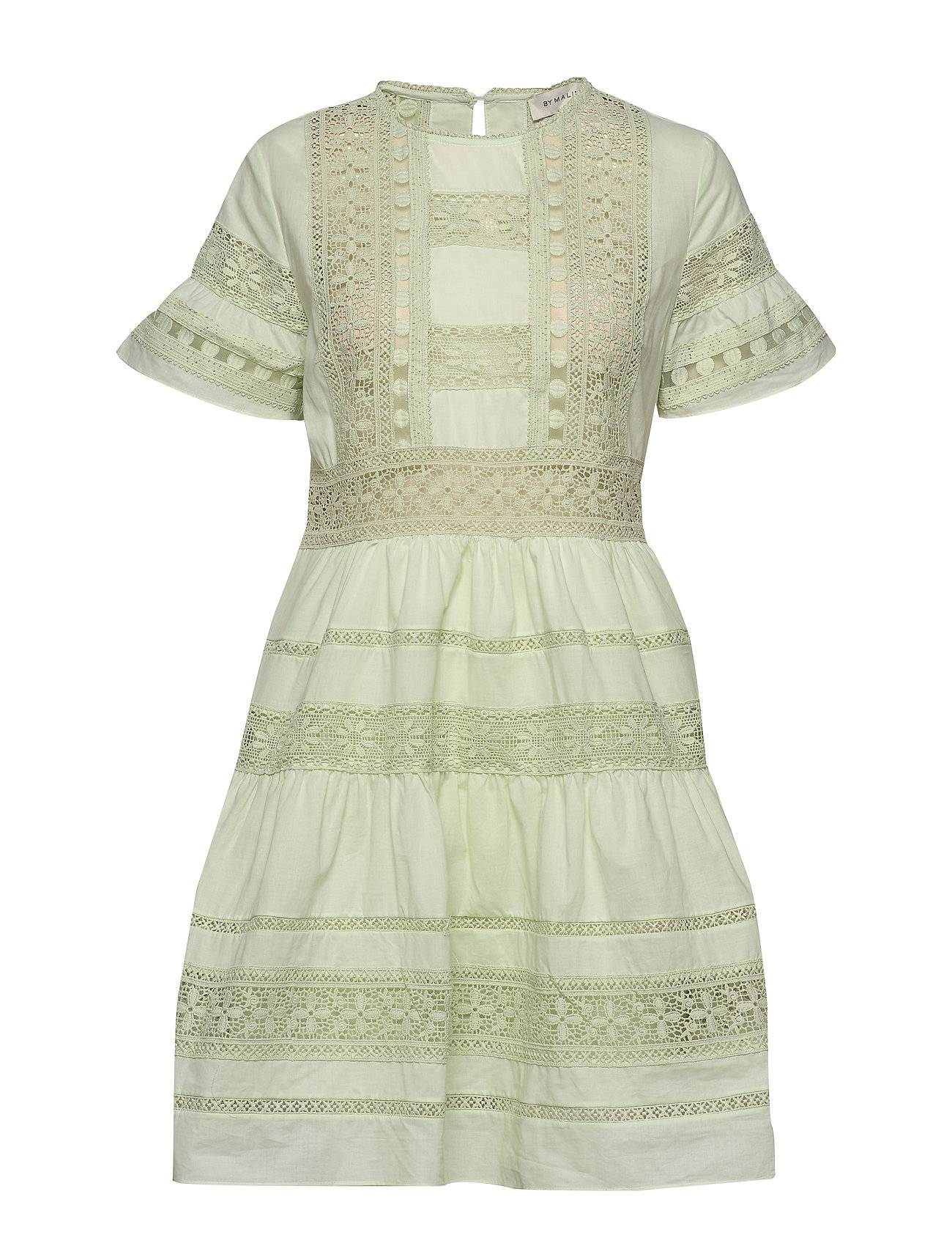 By Malina Felice Dress Lyhyt Mekko Vihreä By Malina
