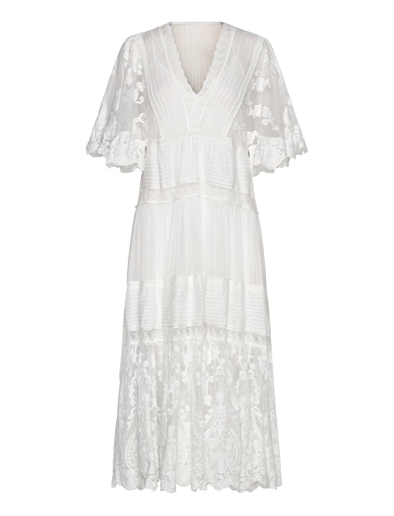 By Malina Olympia Kaftan Dress Hääpuku Morsiuspuku Valkoinen By Malina