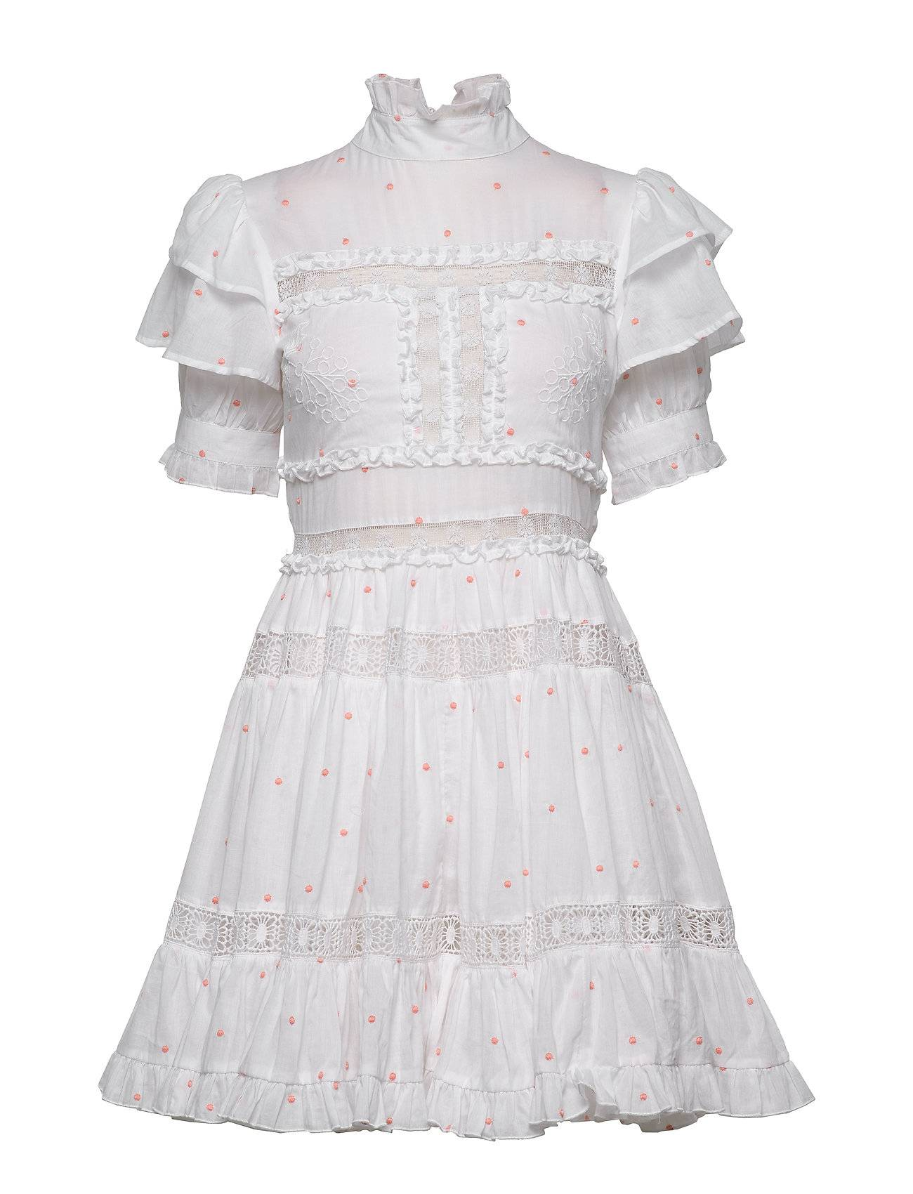 By Malina Iro Mini Dress Lyhyt Mekko Valkoinen By Malina