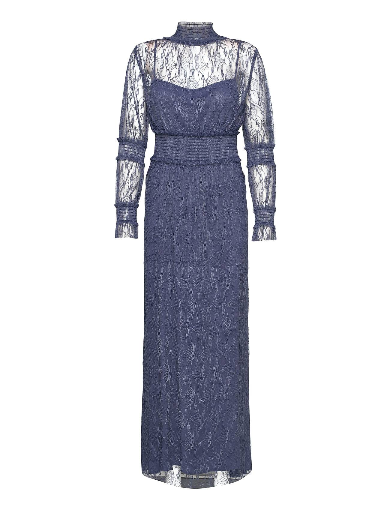By Malina Silvie Dress Maksimekko Juhlamekko Sininen By Malina