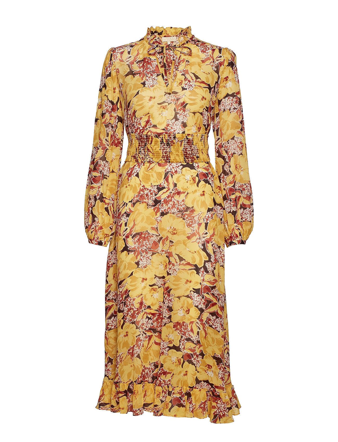 by Ti Mo Semi Couture A-Line Midi Dress