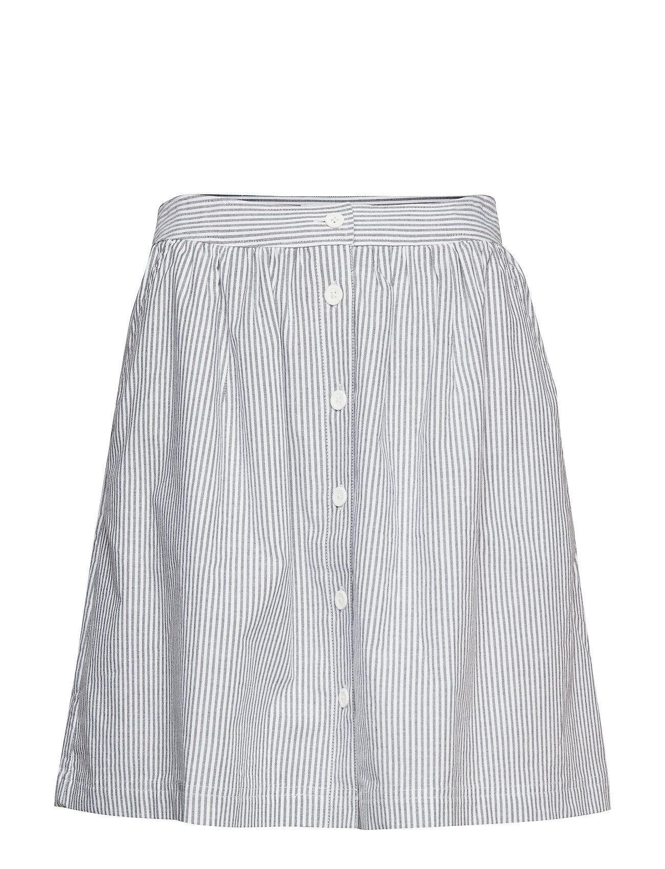 Image of Calvin Oxford Short Skirt Lyhyt Hame Valkoinen Calvin Klein Jeans