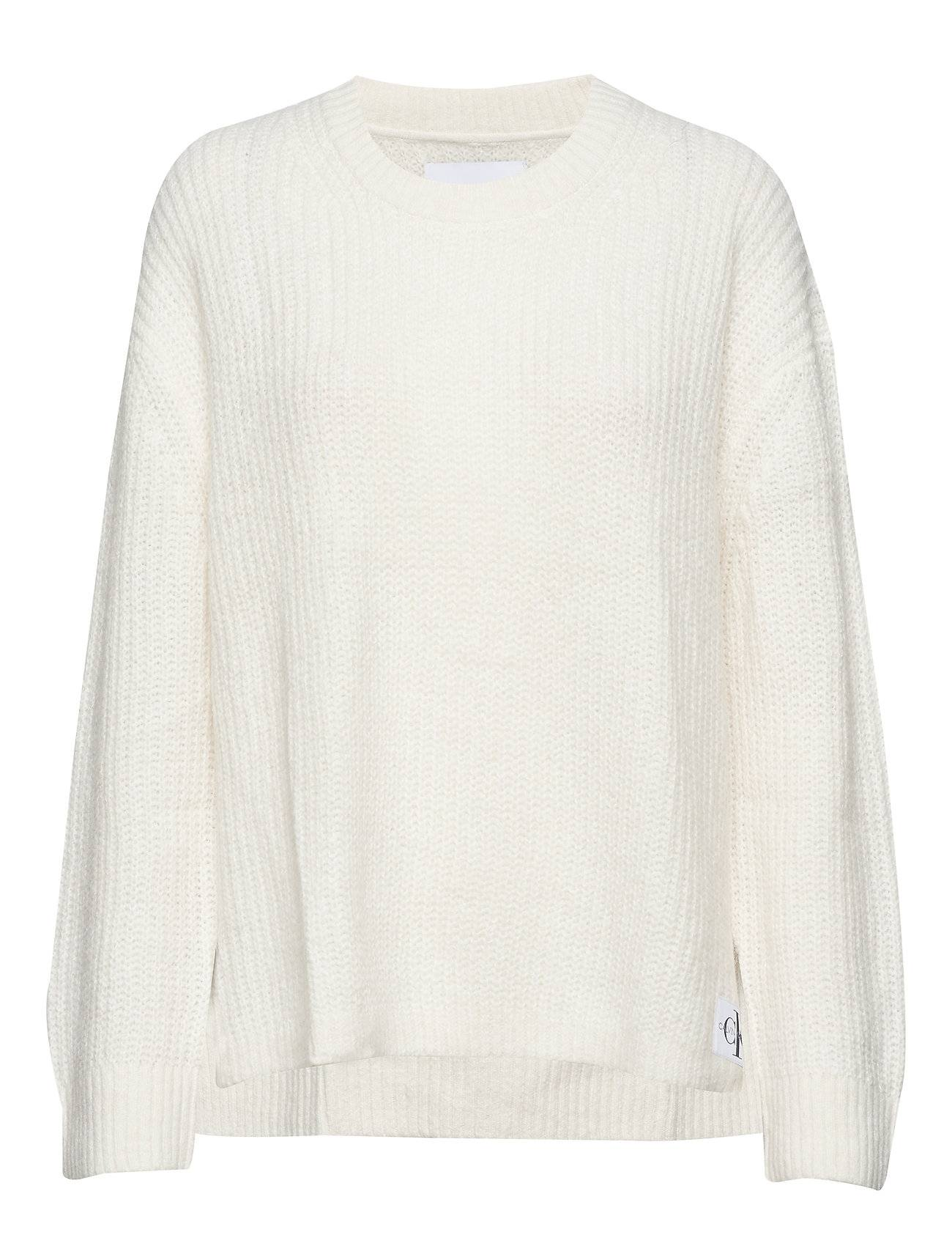Image of Calvin Wool Blend Cn Sweater Neulepaita Valkoinen Calvin Klein Jeans