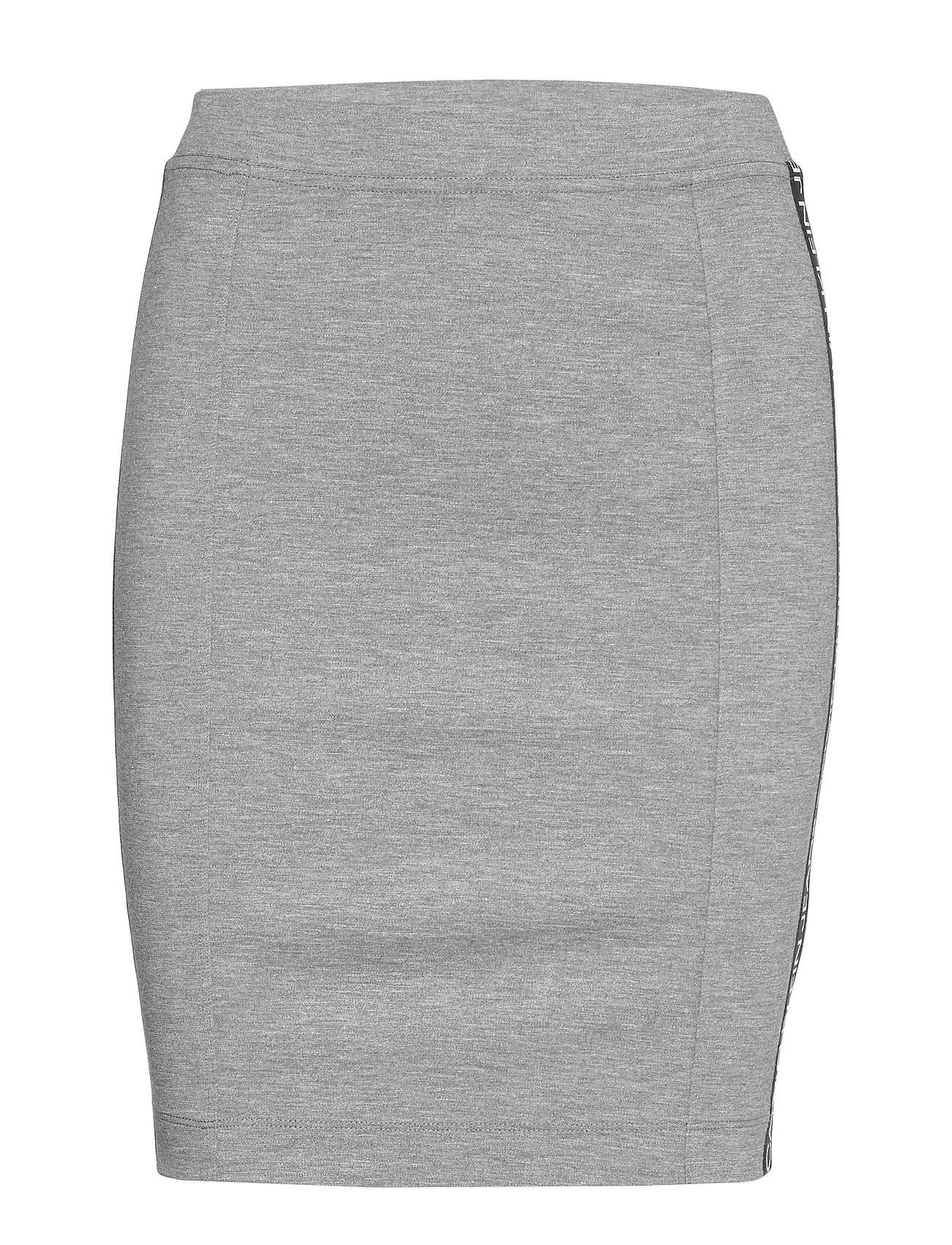 Image of Calvin Milano Logo Elastic Skirt Lyhyt Hame Harmaa Calvin Klein Jeans