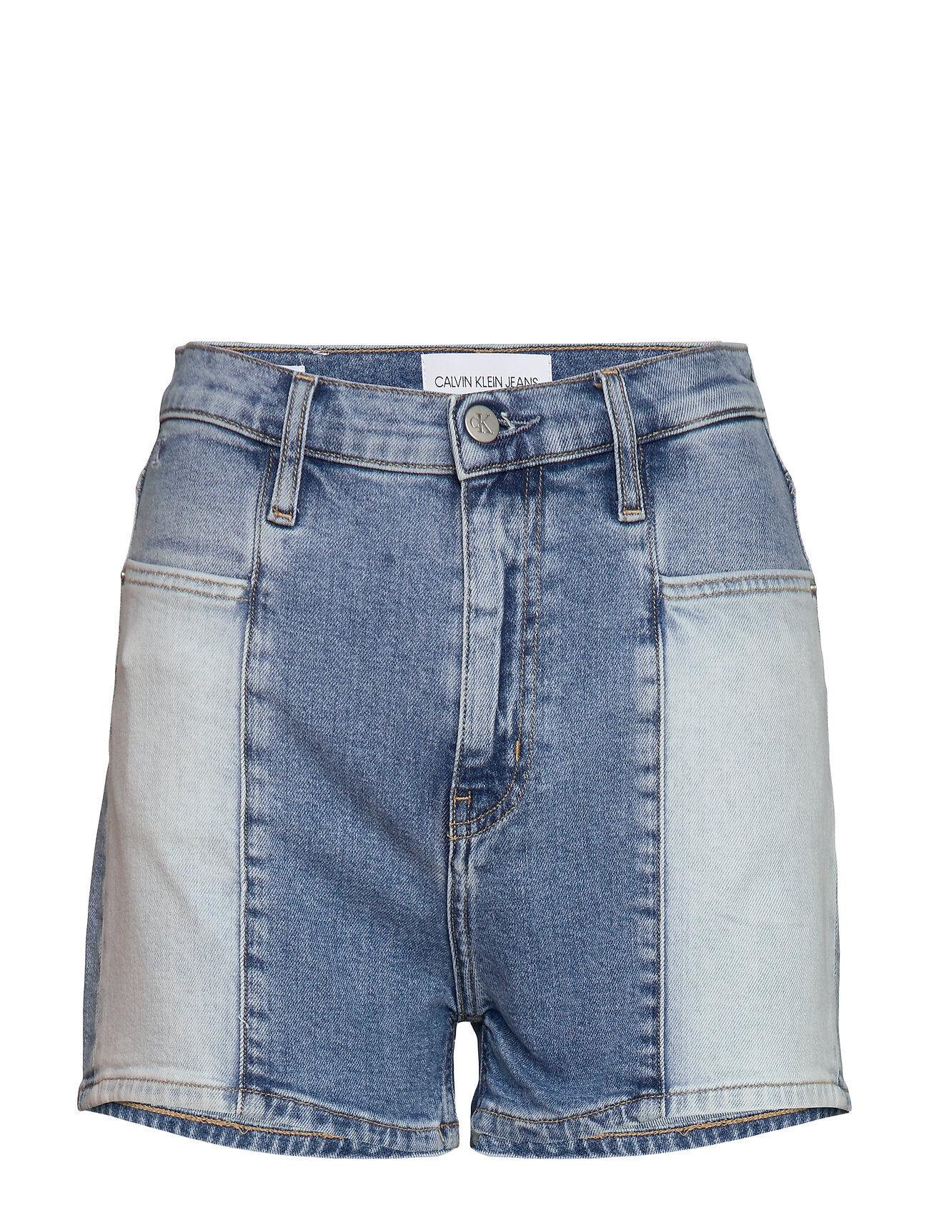 Image of Calvin High Rise Short Shorts Denim Shorts Sininen Calvin Klein Jeans