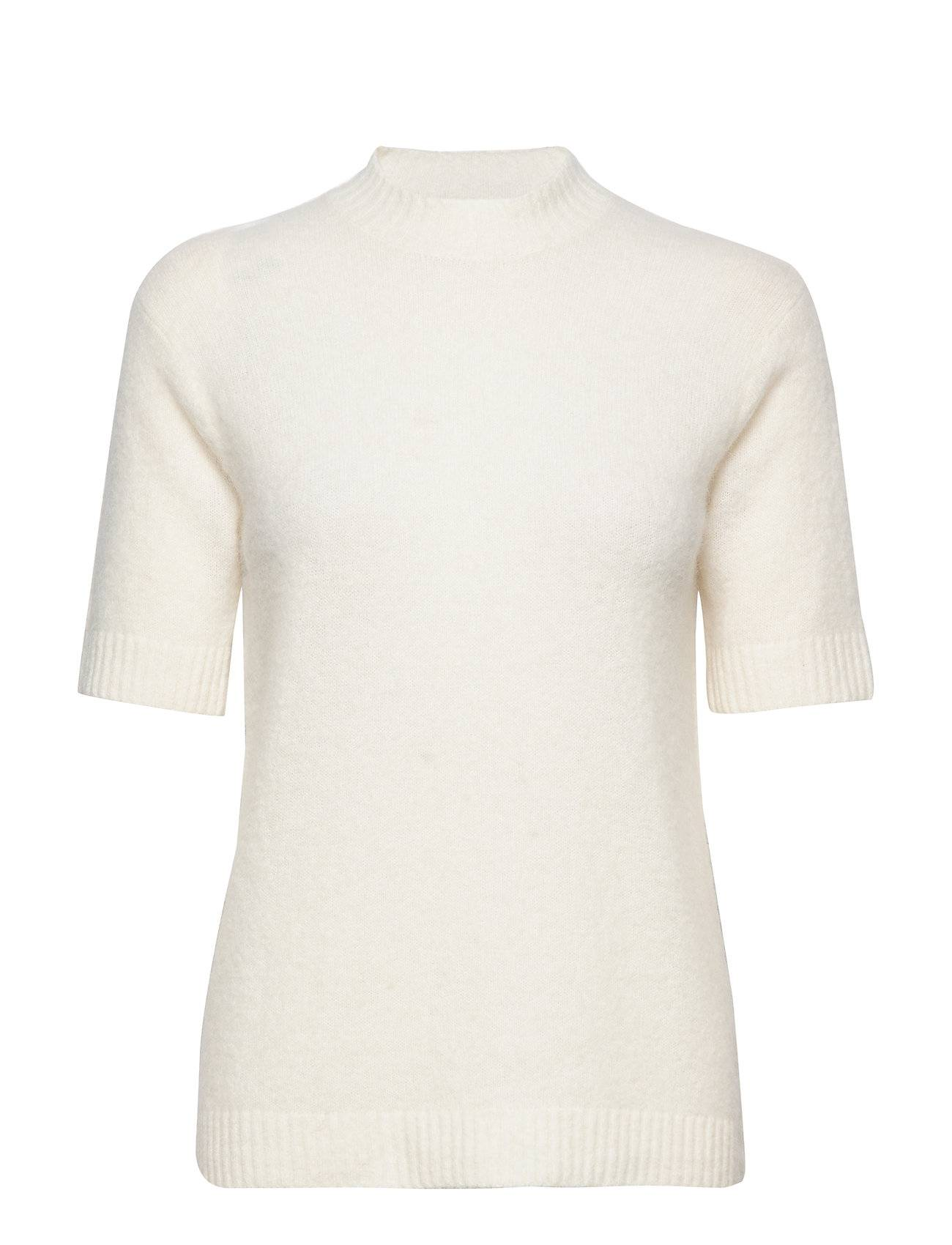 Camilla Pihl Rome T-shirts & Tops Knitted T-shirts/tops Kermanvärinen Camilla Pihl